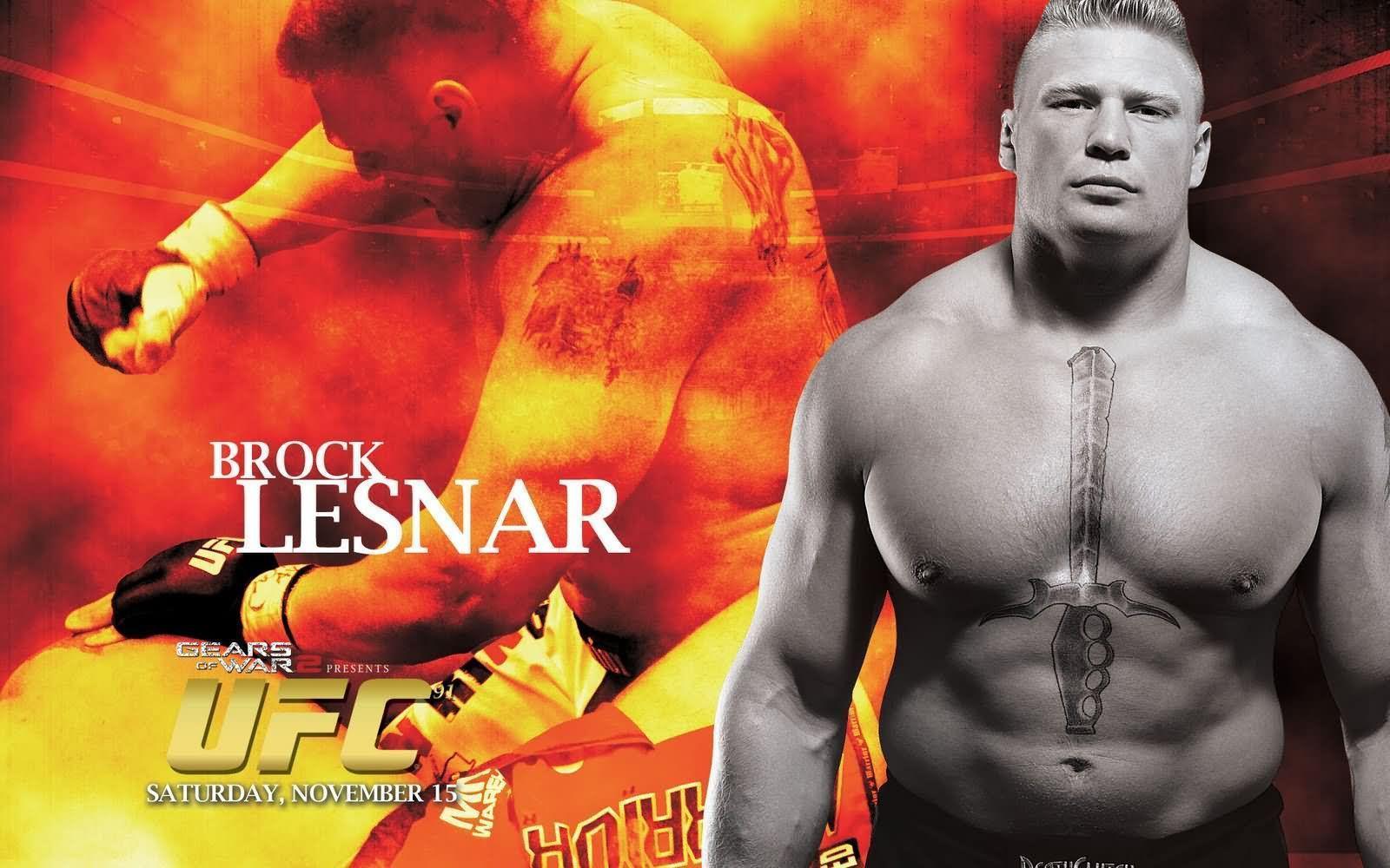 Brock Lesnar Ufc Wallpapers Wallpaper Cave