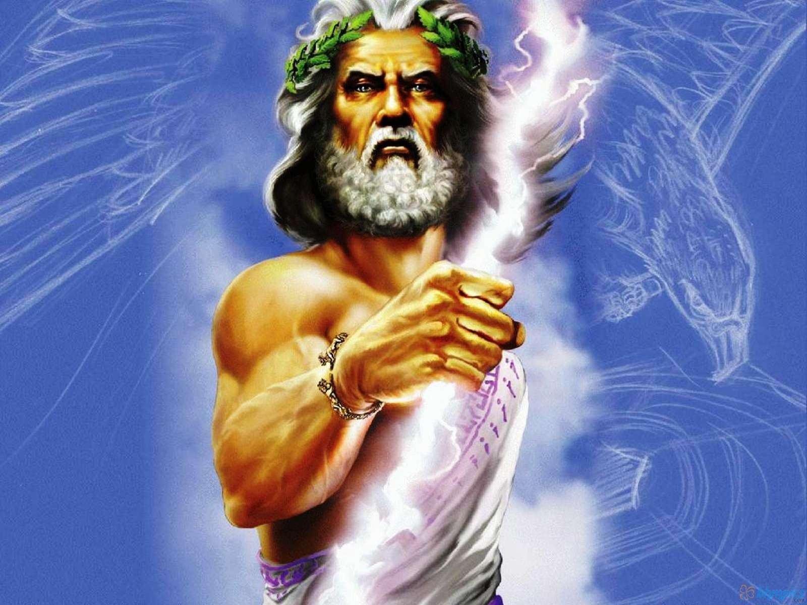 Ancient Greek Mythology Background Greek Gods Wall...