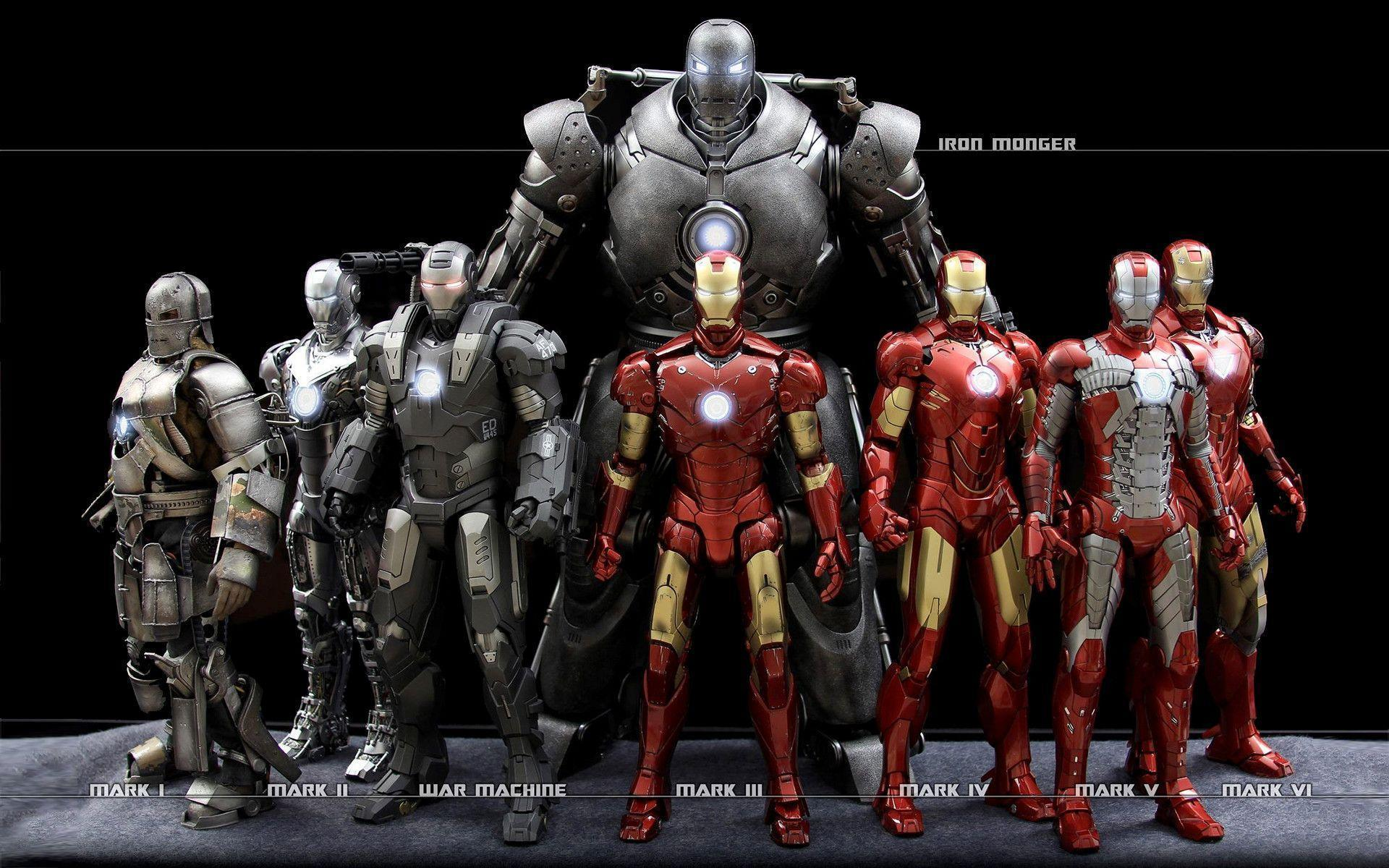 Iron Man Suits Wallpapers