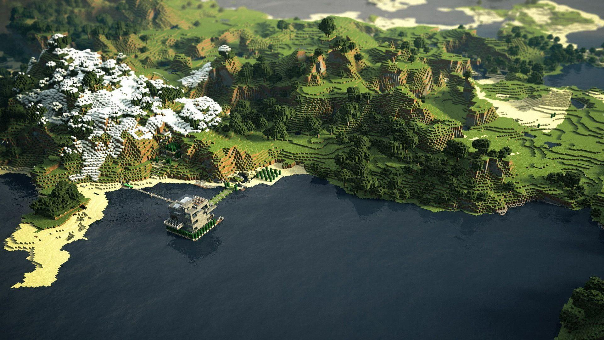 Hd Game Wallpapers 1080P Minecraft Hd Background 8 HD Wallpapers .