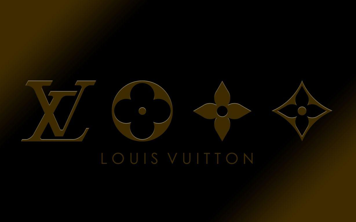 Wallpapers For > Louis Vuitton Wallpapers Black