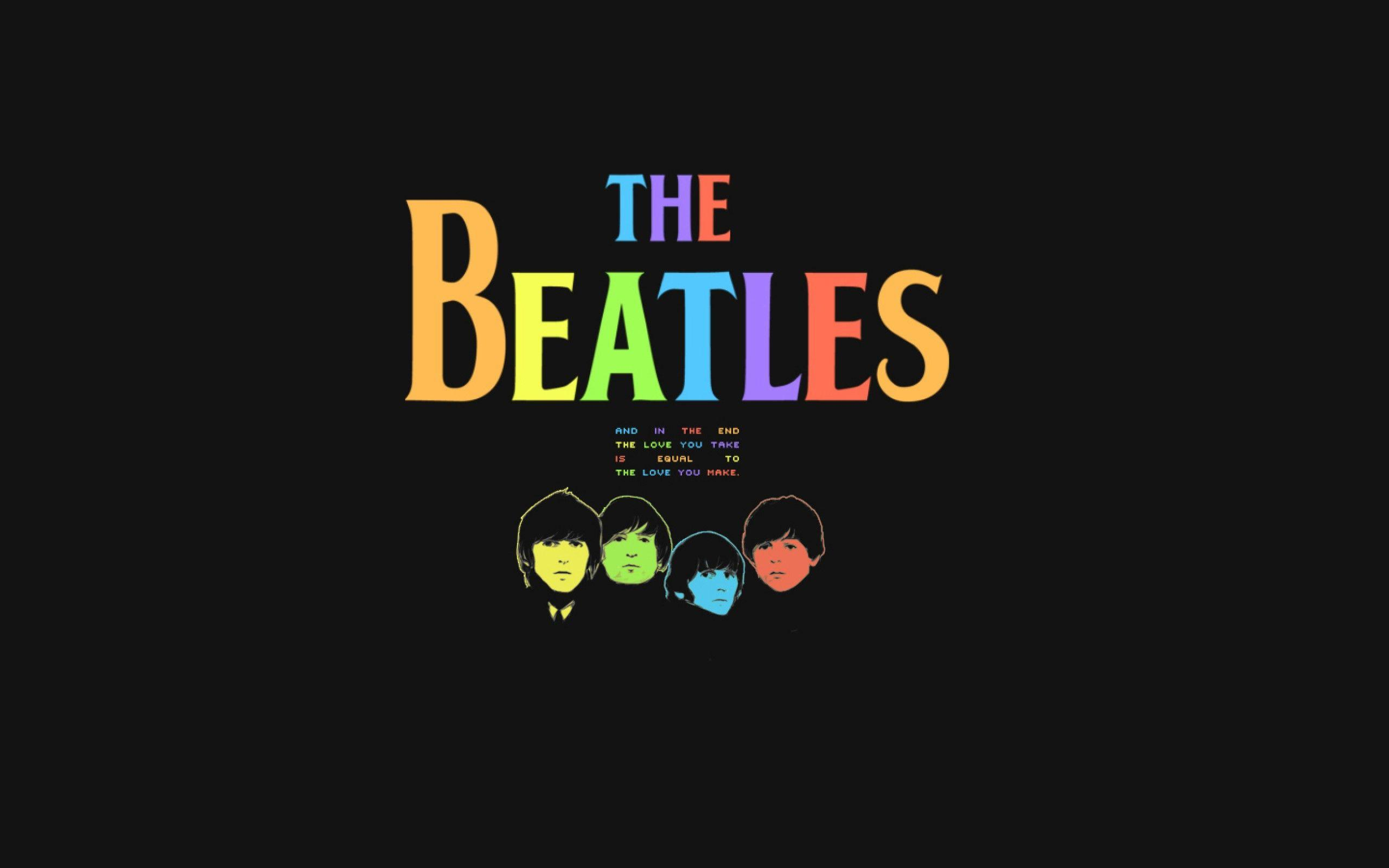 Wallpapers For The Beatles Rock Band Wallpaper