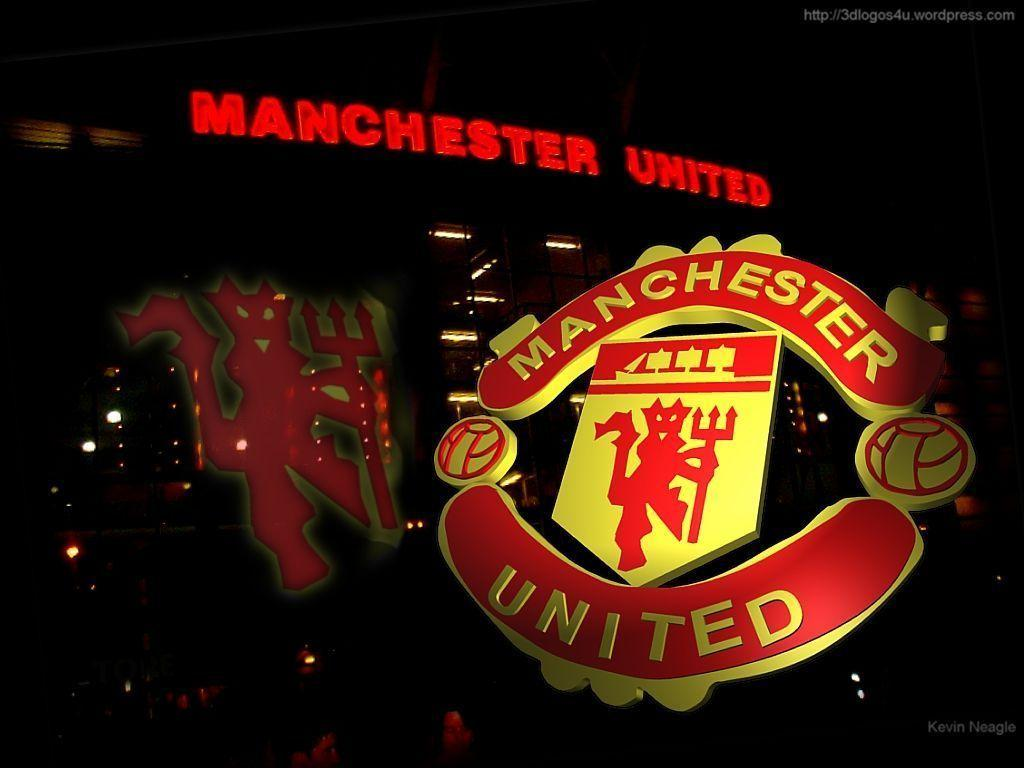 Manchester United Logo Wallpapers 4.: Manchester United Logo