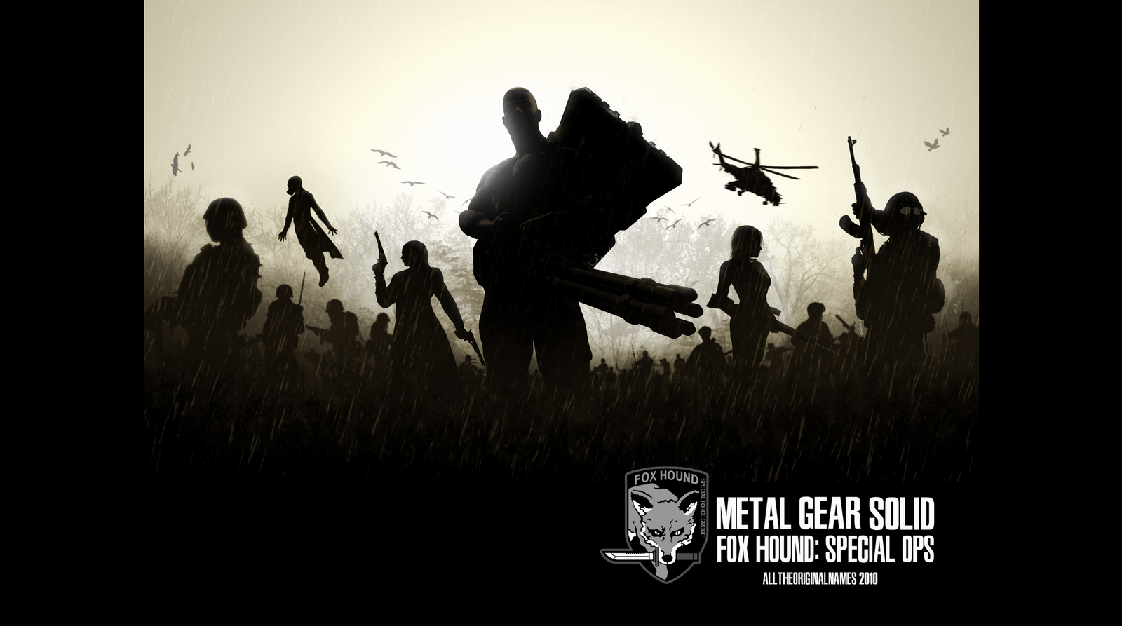 Foxhound metal gear solid wallpapers