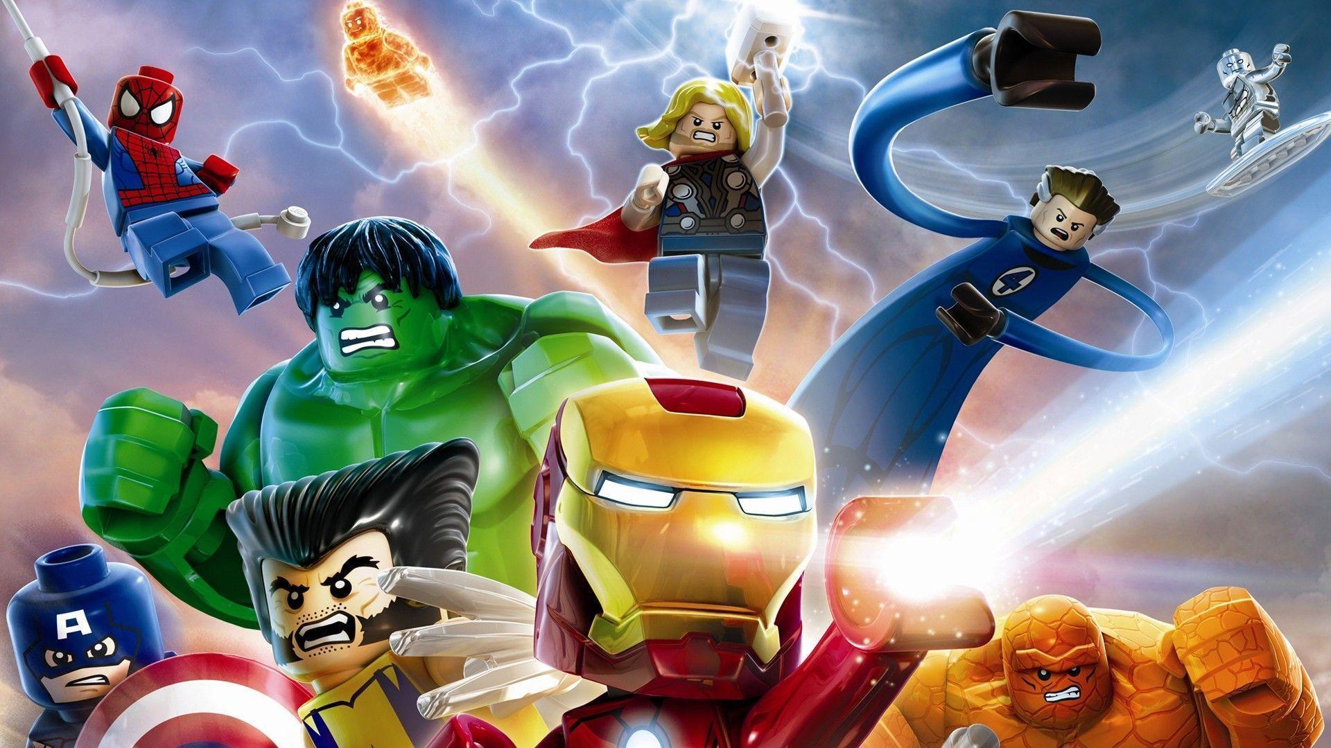 17 Lego Marvel Super Heroes Wallpapers | Lego Marvel Super Heroes .