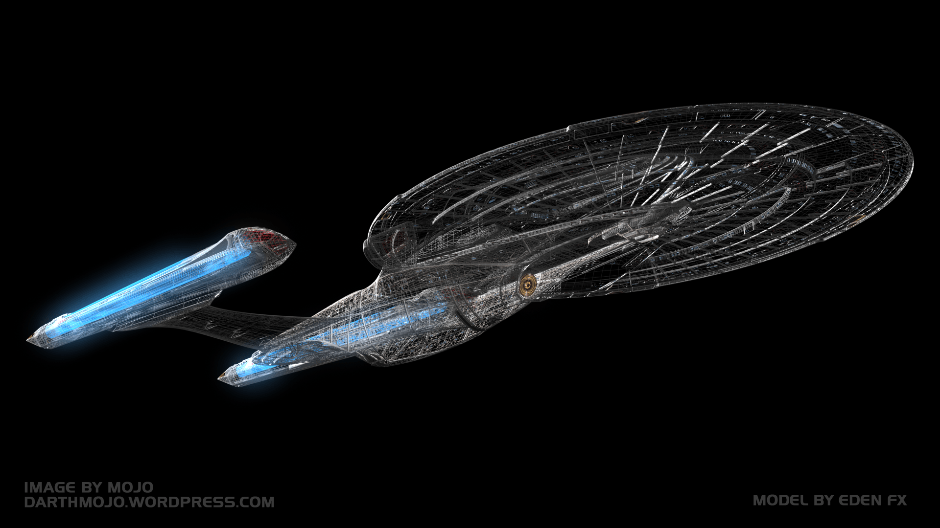 Star Trek Wireframe wallpapers 44502