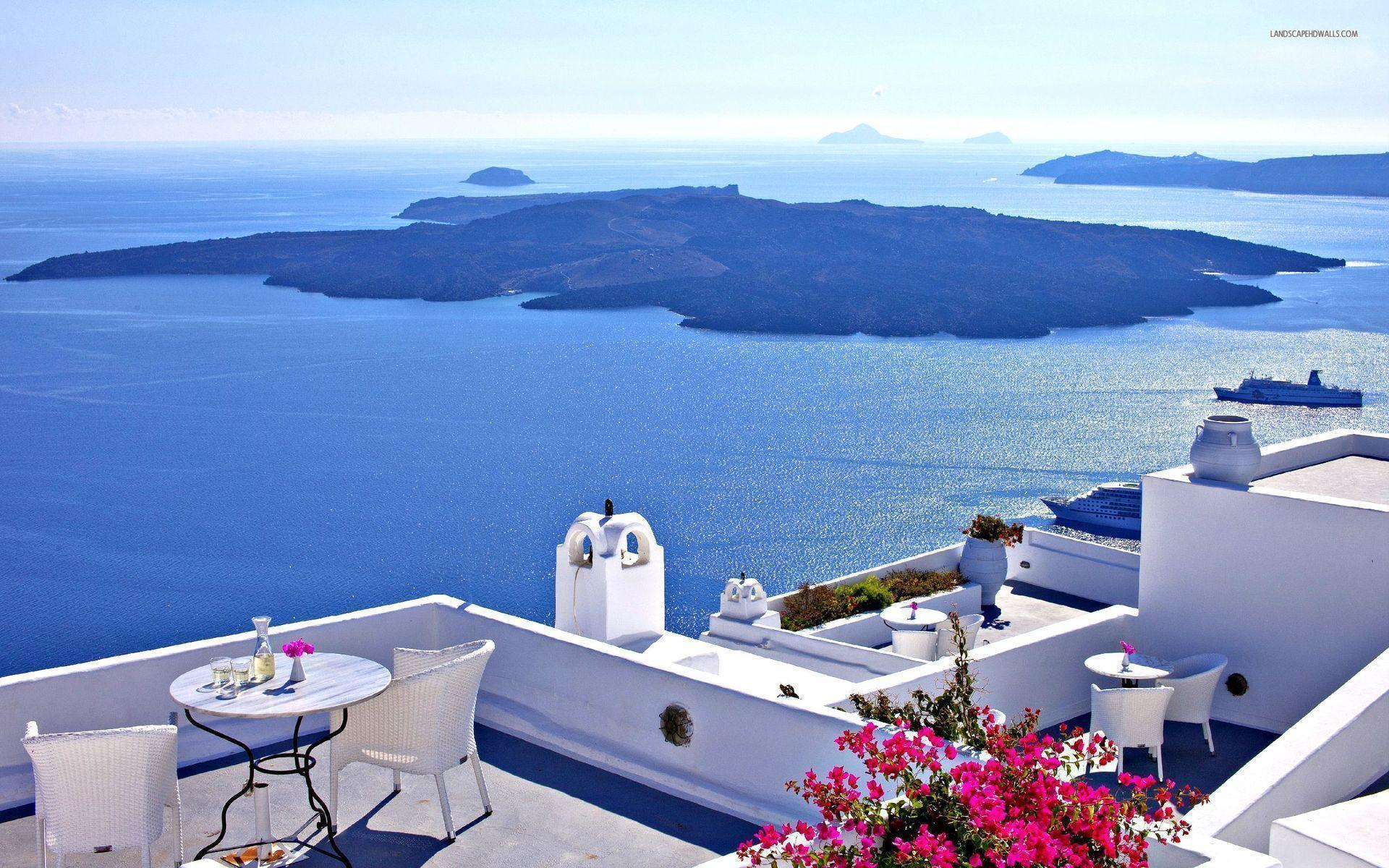 Santorini wallpapers #