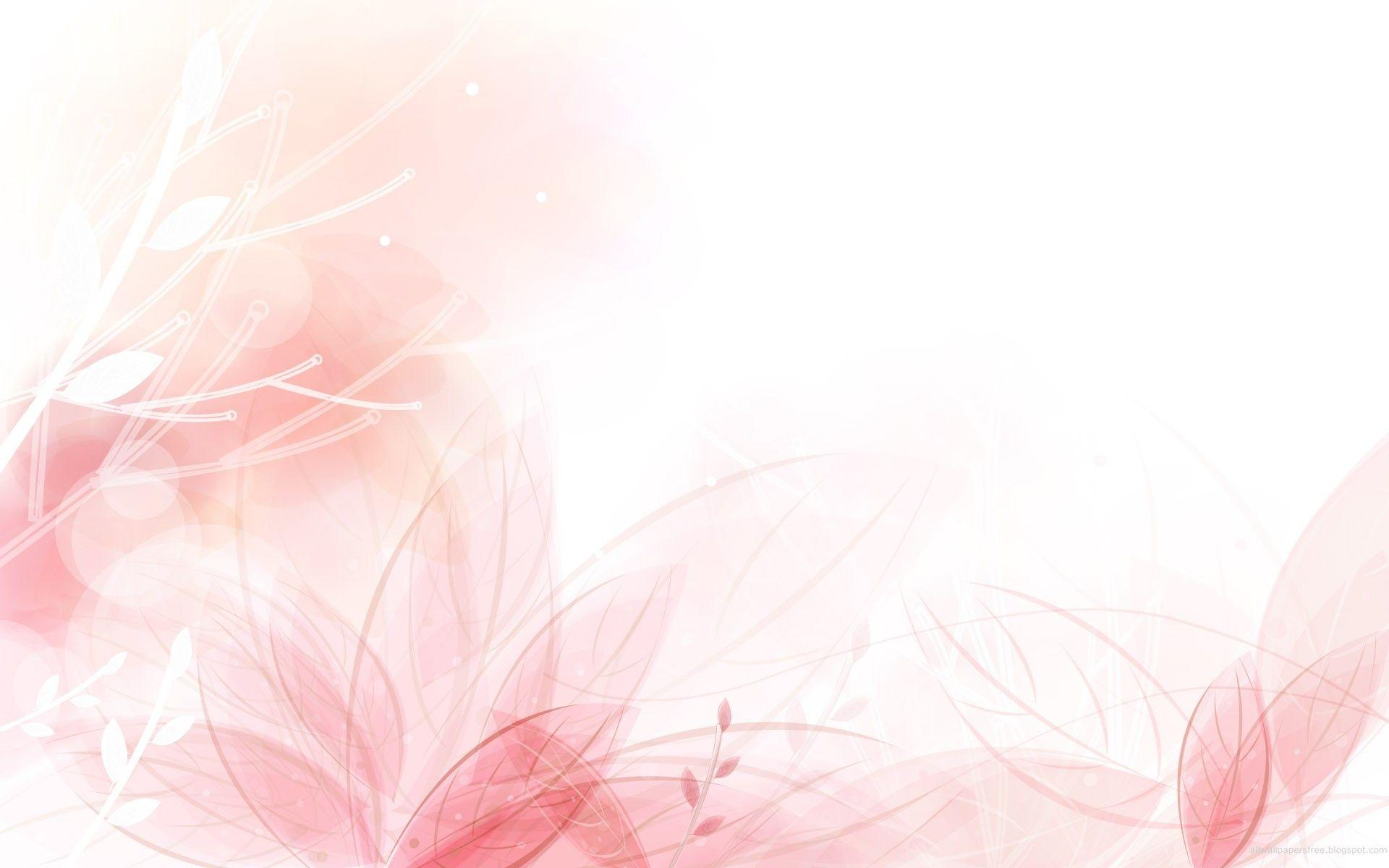 light pink flower wallpaper - photo #1