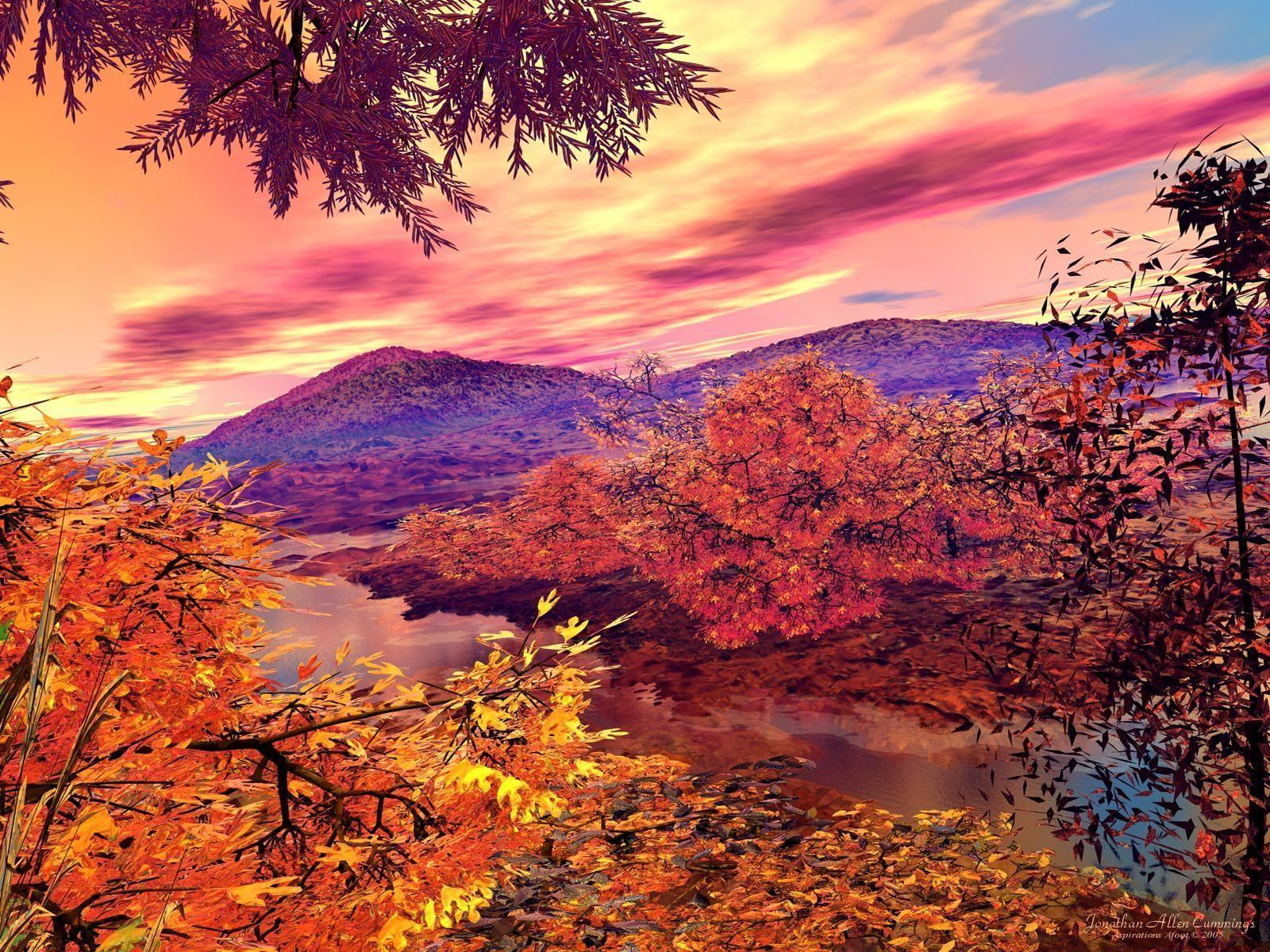 autumn pictures wallpapers wallpaper cave
