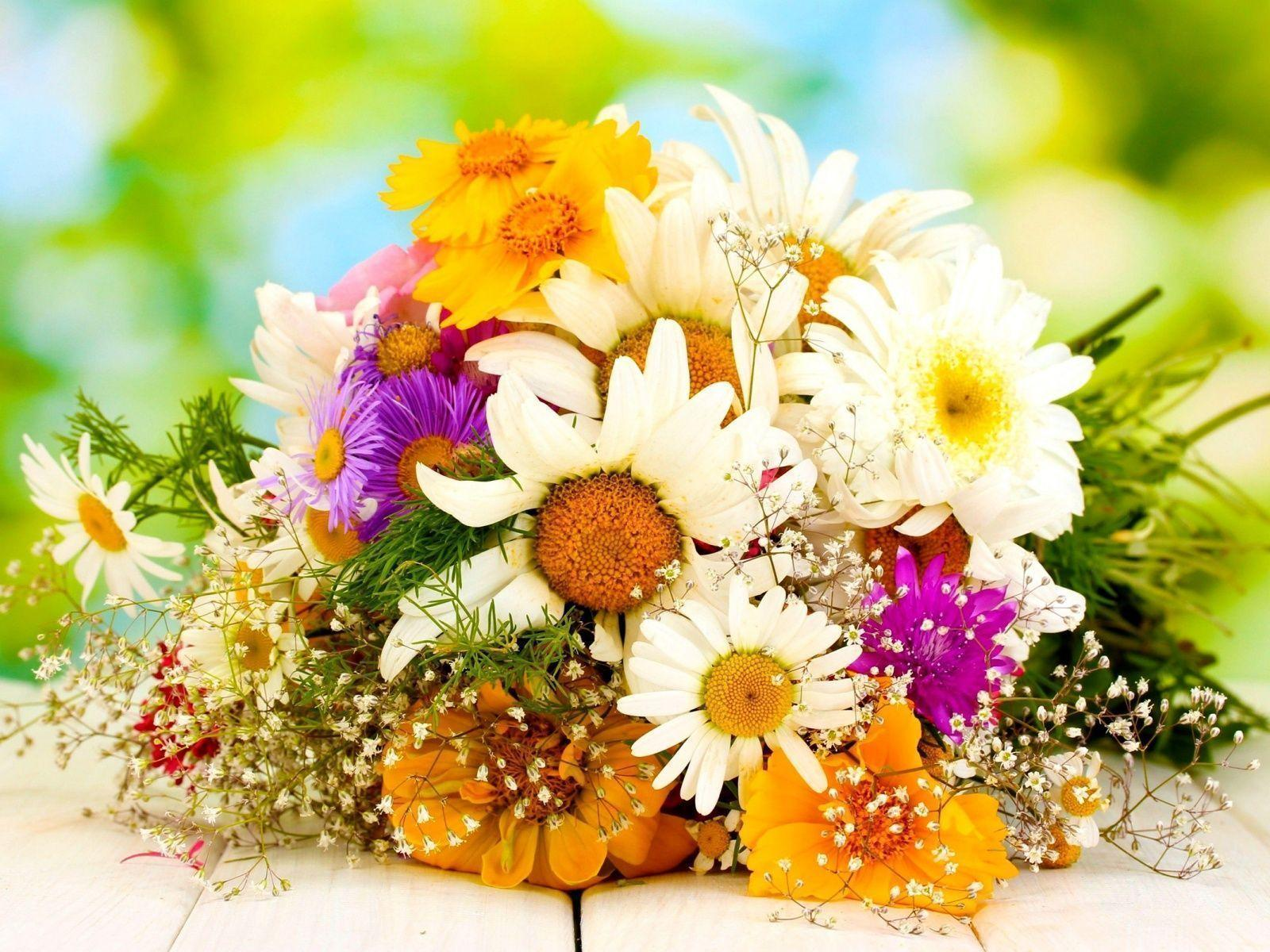 Flowers For > Yellow Flowers Bouquet Wallpapers
