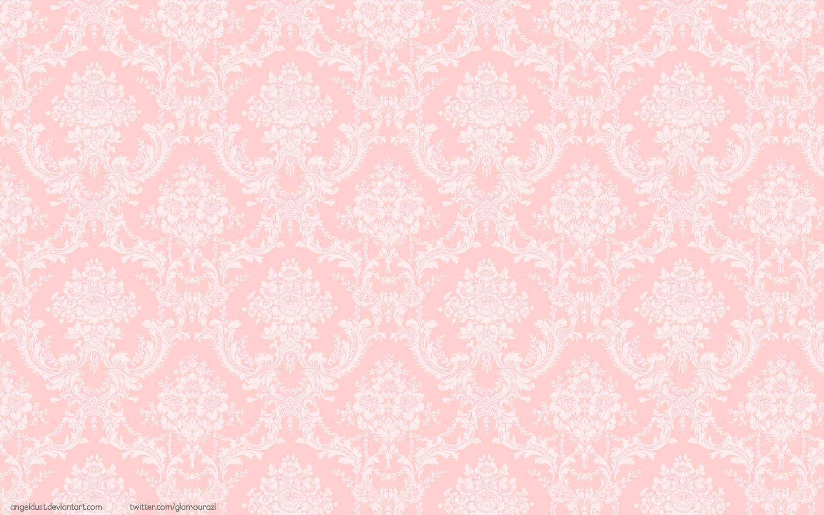 Damask desktop wallpapers wallpaper cave - Light pink background tumblr ...