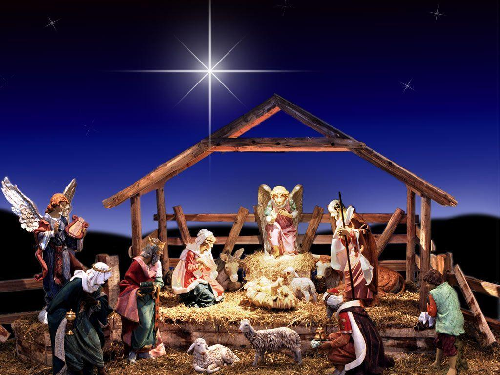 Christmas Nativity Scene Wallpapers