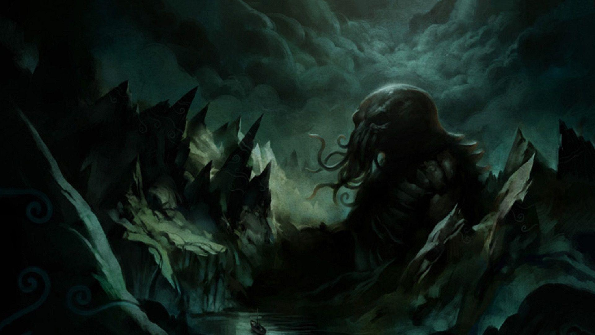 Cthulhu Computer Wallpapers, Desktop Backgrounds 1920x1080 Id: 475235