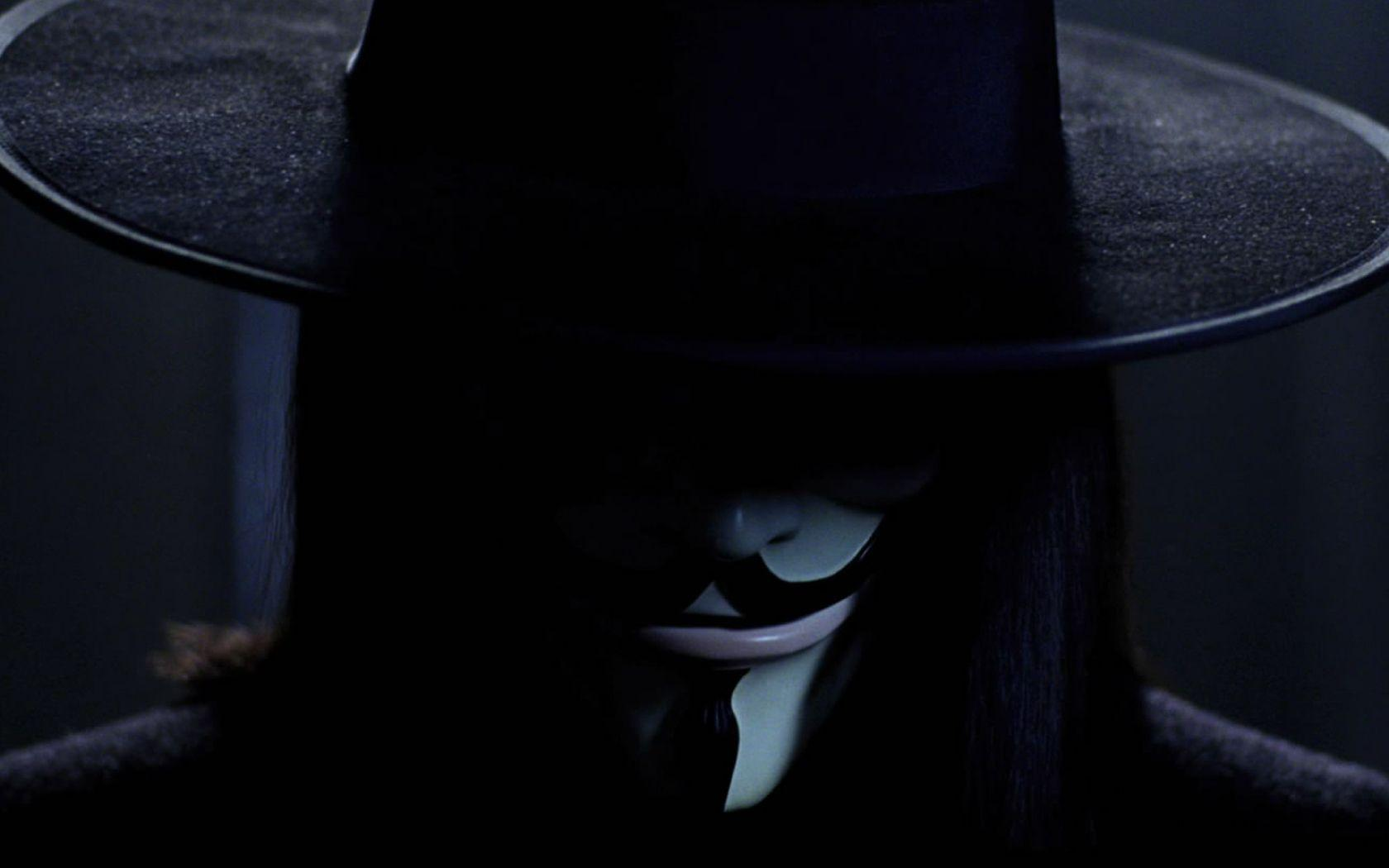 Quotes Guy Fawkes V For Vendetta Black Background 1920x1080 Wallpaper