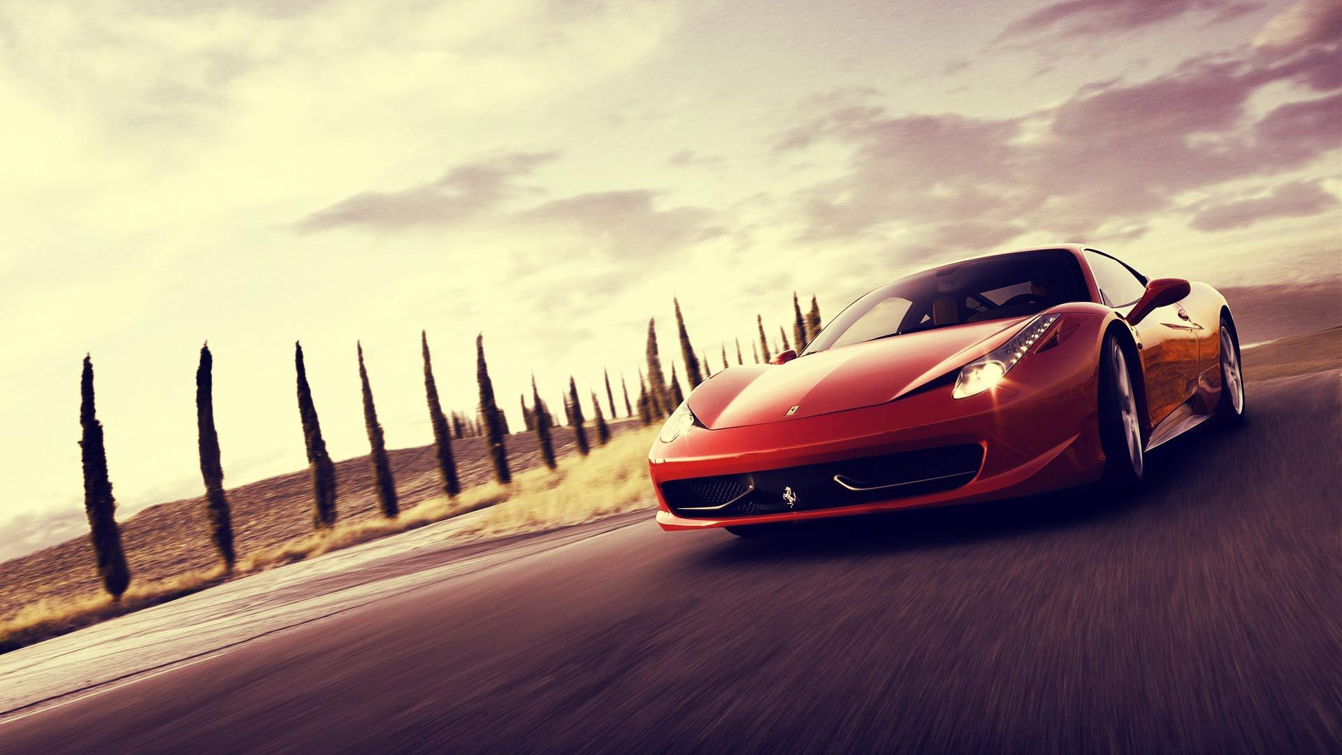 Vehicles For U003e Red Ferrari Cars Wallpapers