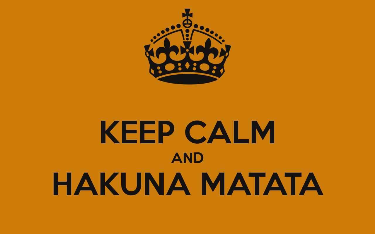 Hakuna Matata Iphone 5 Wallpaper