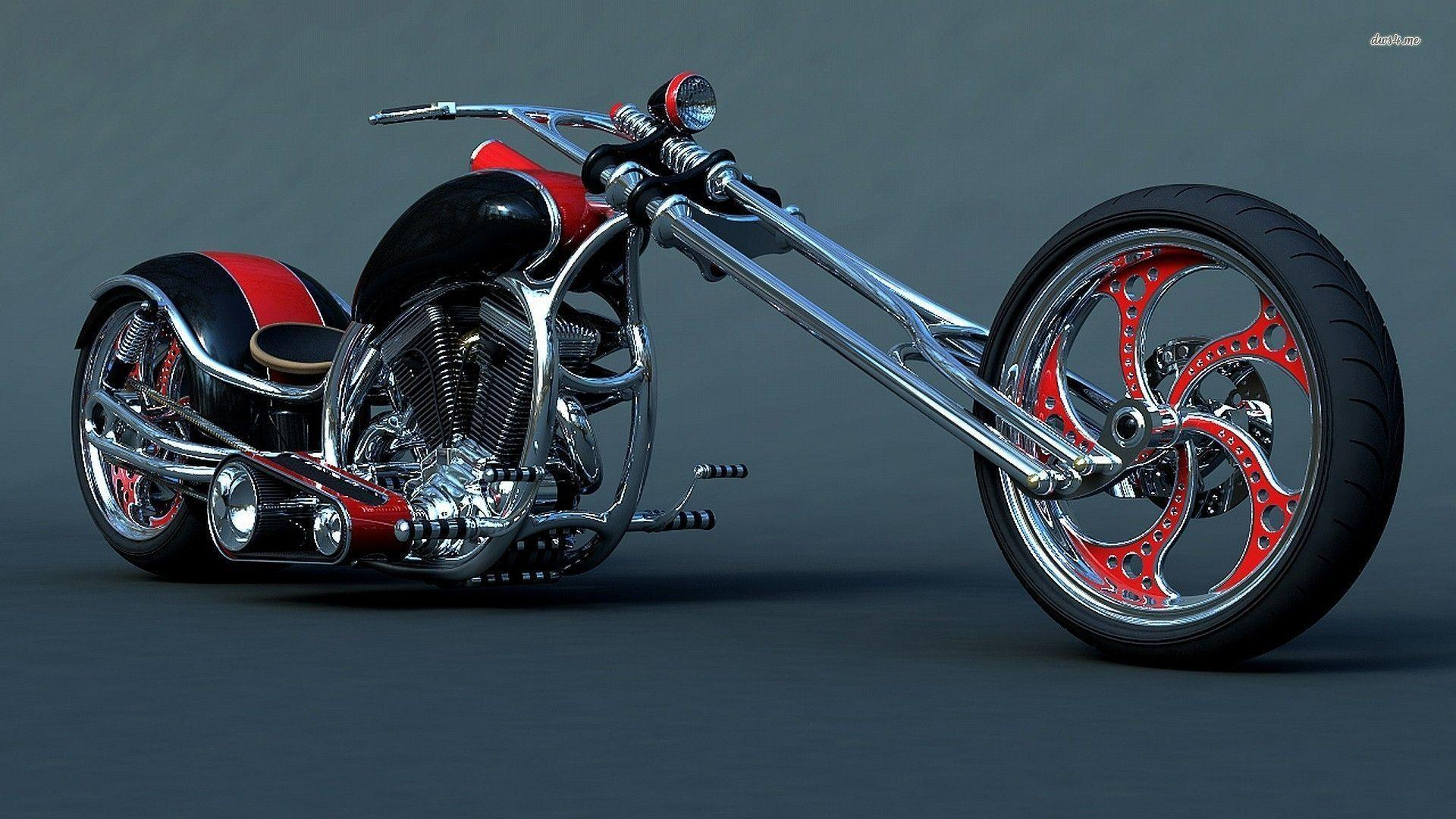 Custom Harley Davidson Chopper Wallpaper  Motorcycle Wallpapers