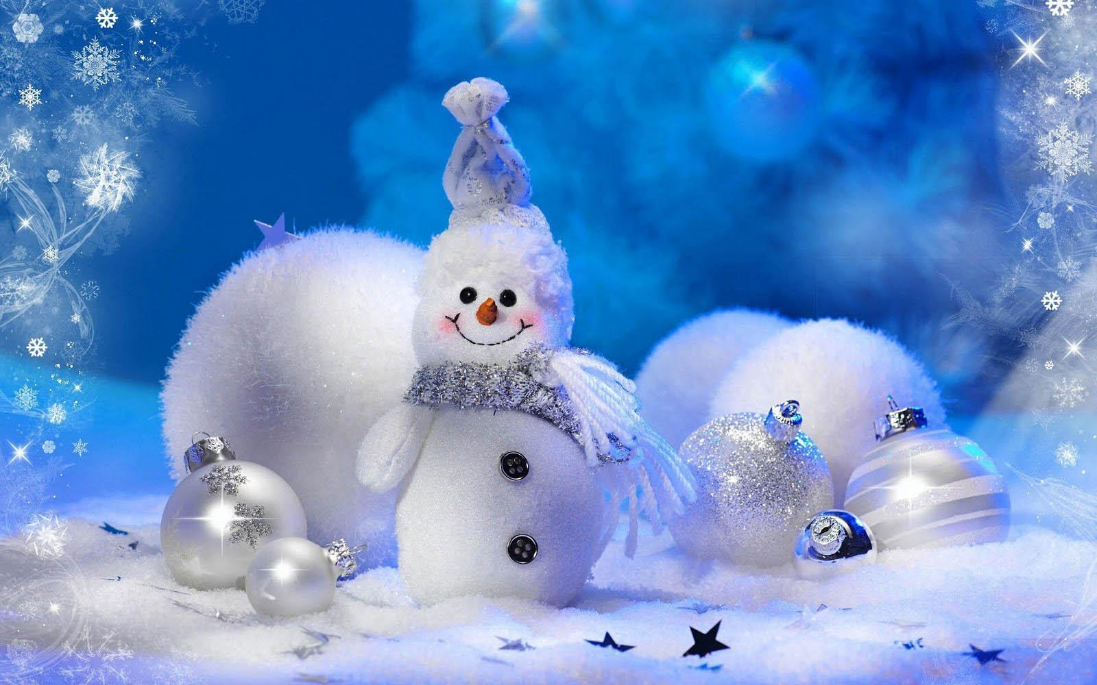 Christmas Snowman Android Wallpaper 29013 High Resolution