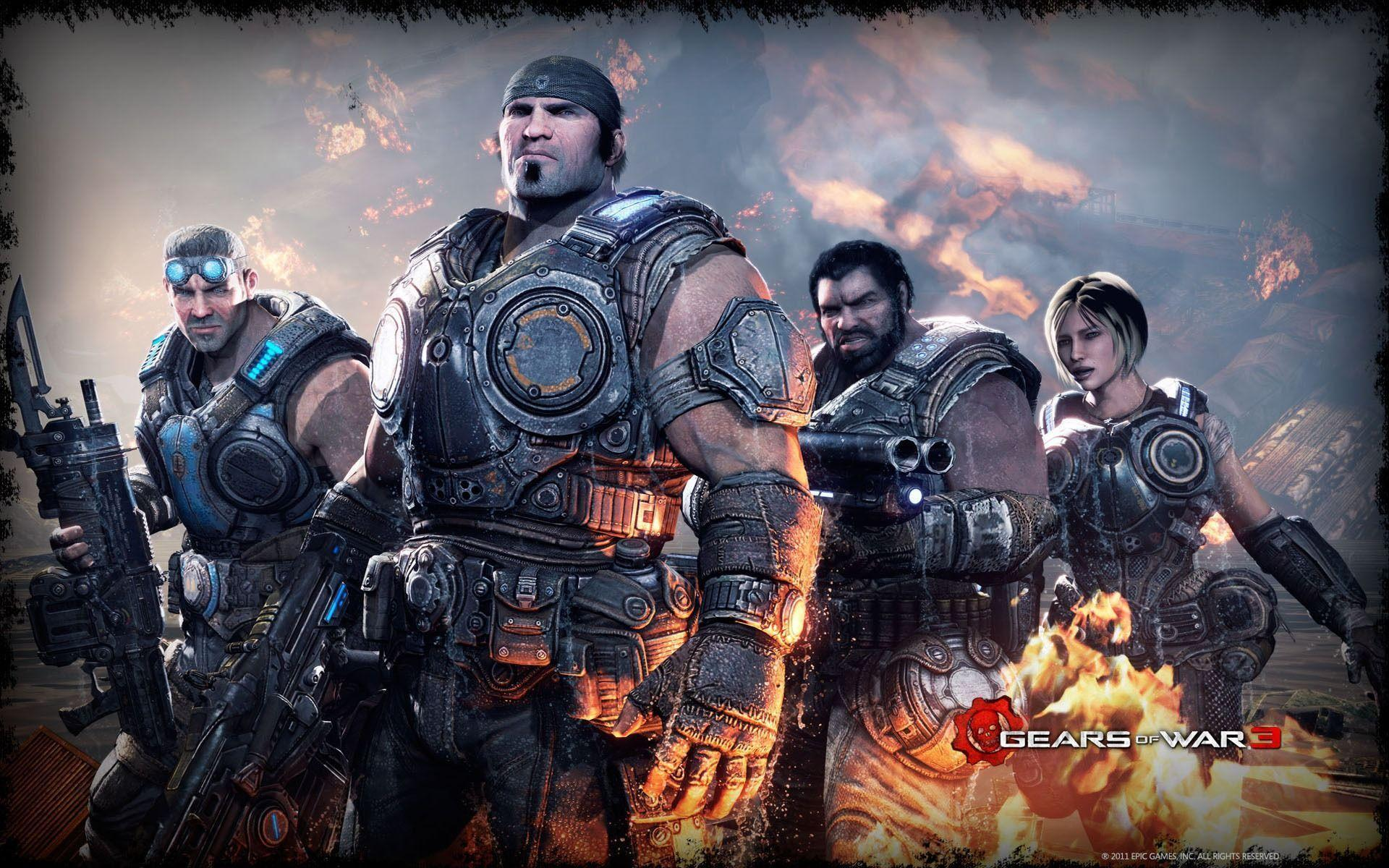 Gears Of War 3 Wallpapers HD