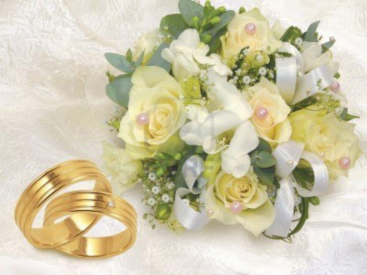 Wedding Invitation White Roses And Ring