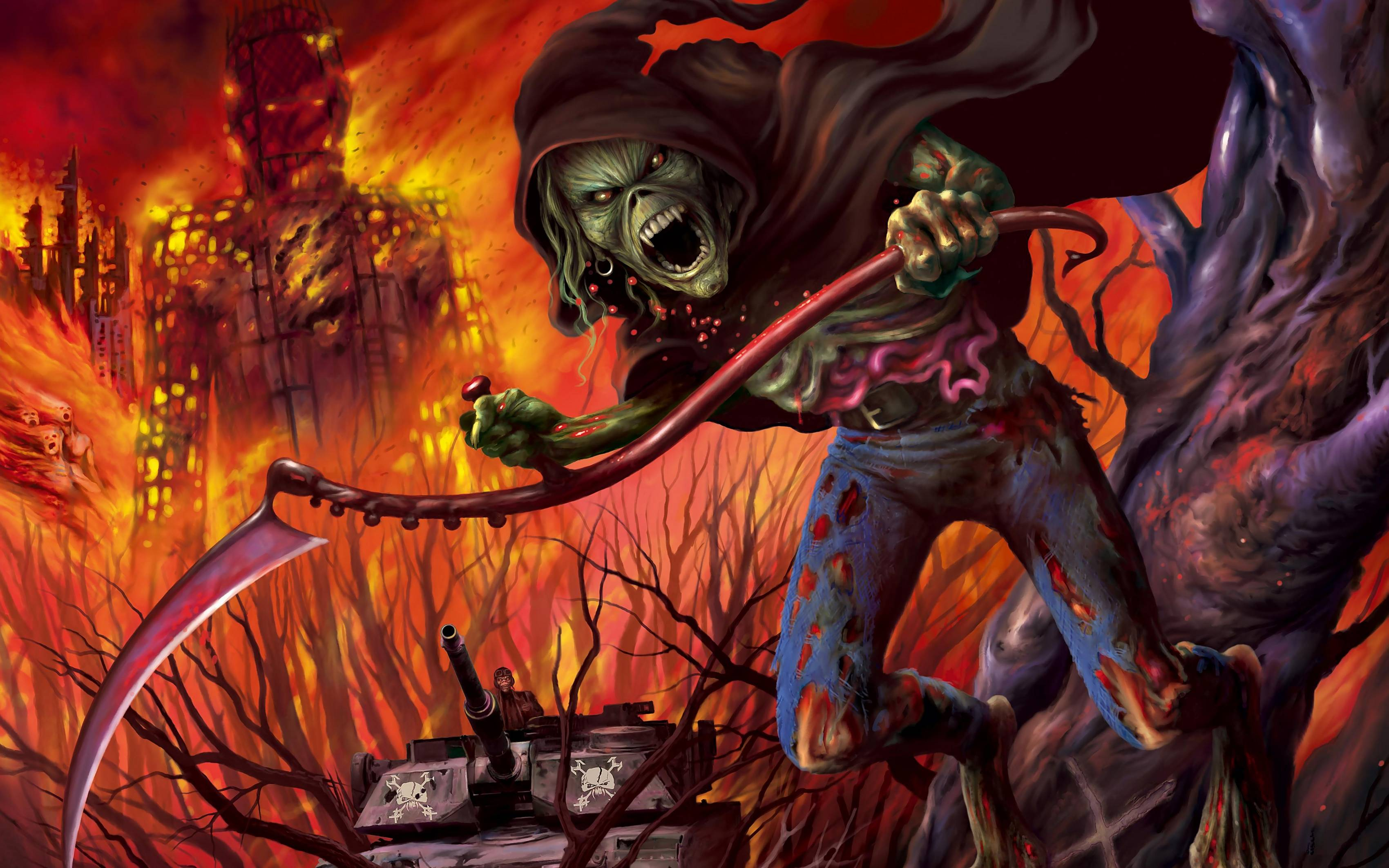 iron maiden wallpapers covers - photo #8
