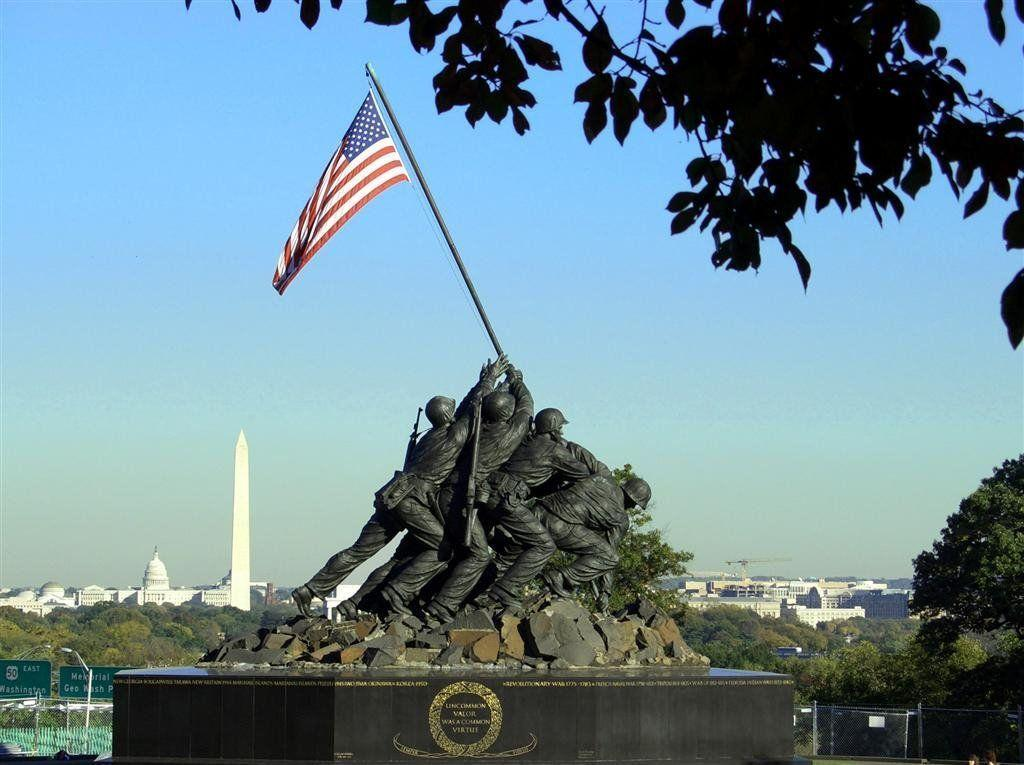 Gallery For > Iwo Jima Flag Raising Color