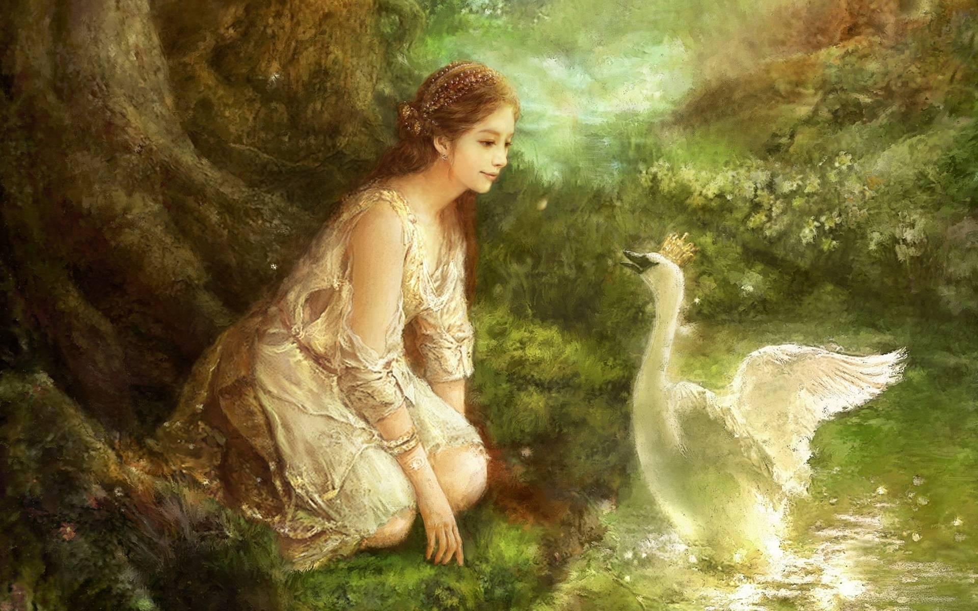 Fantasy Princess Wallp...
