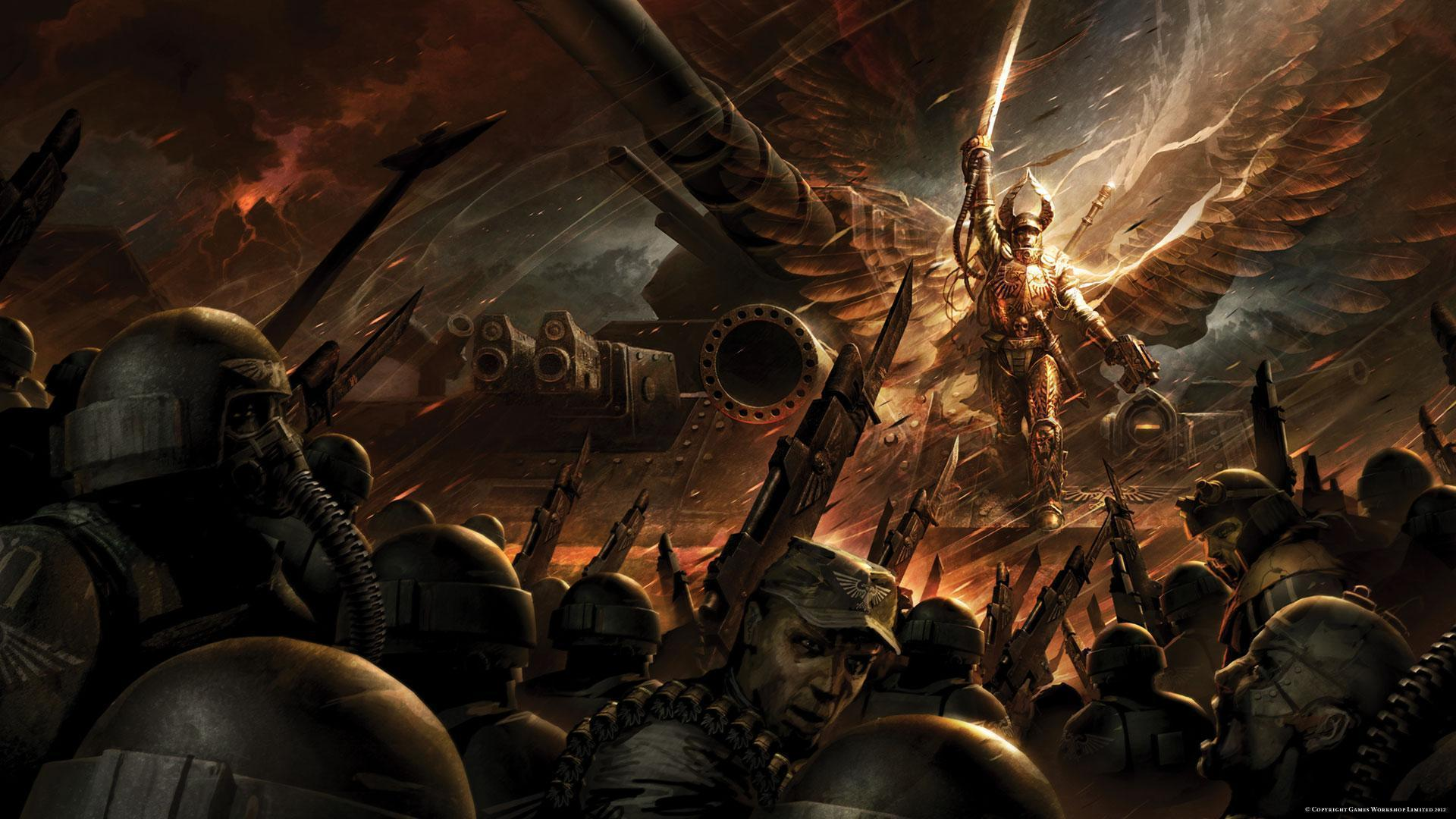 Warhammer 40k wallpapers wallpaper cave - Battlefield screensaver ...