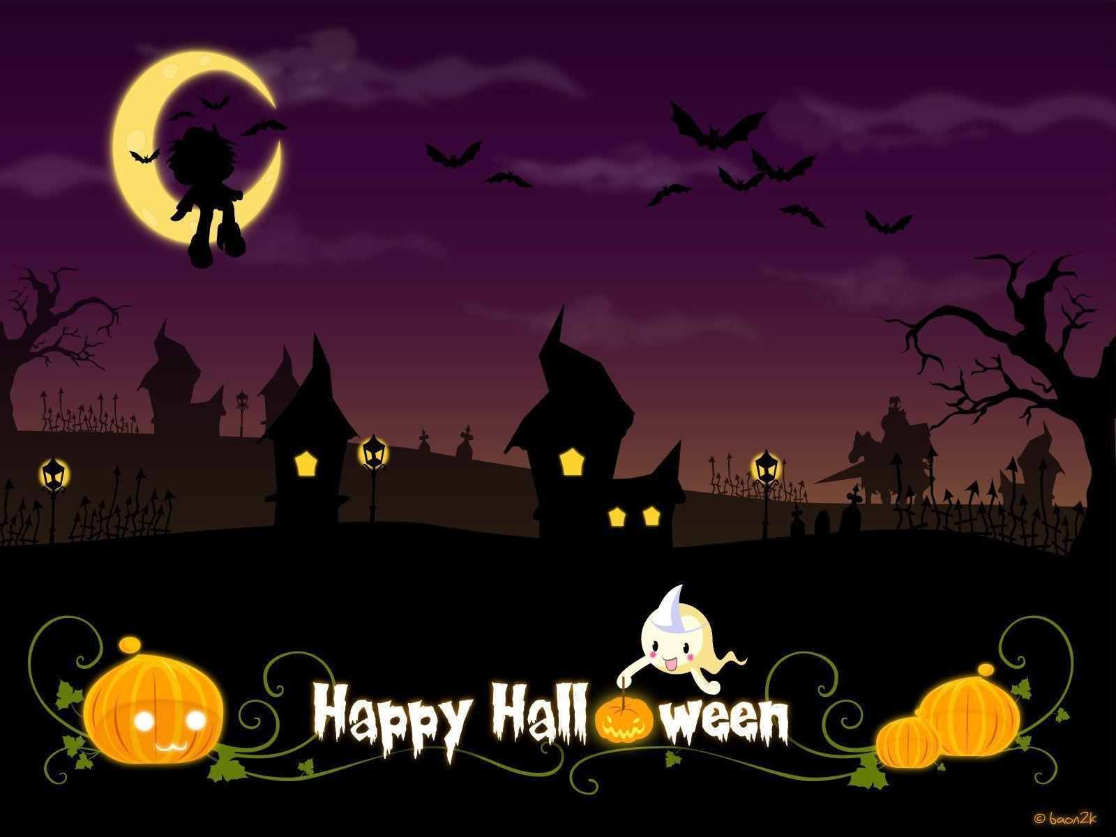60 cute Halloween wallpapers HQ