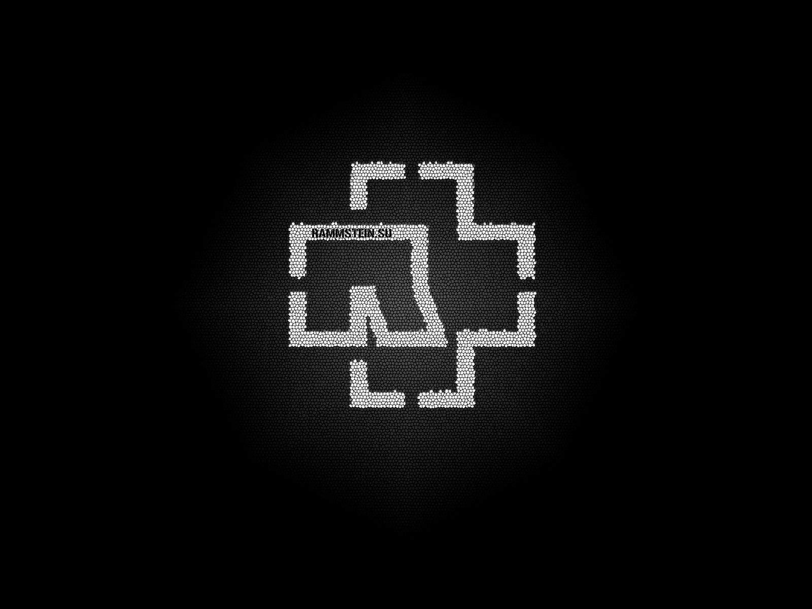 Rammstein Logo Wallpapers Wallpaper Cave