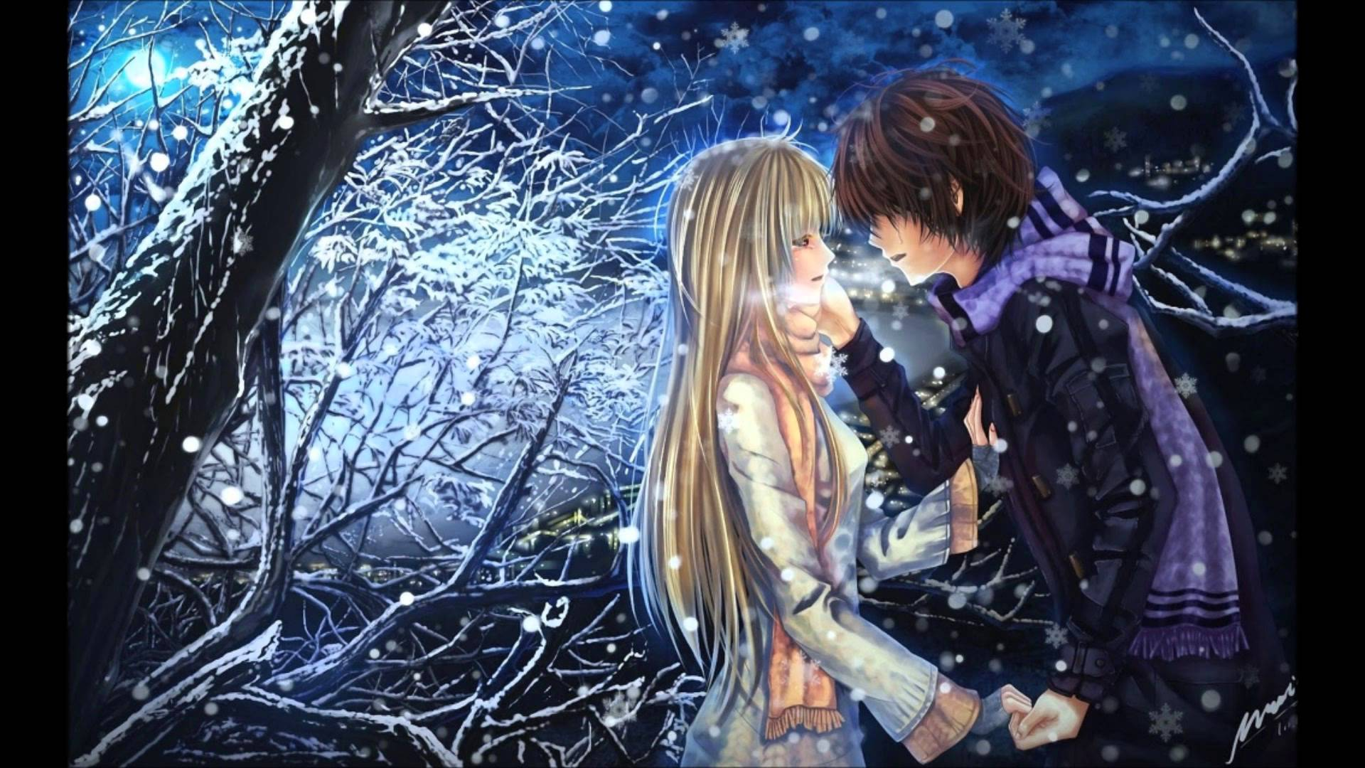 Wallpaper Background Anime Love : Love Anime Wallpapers - Wallpaper cave