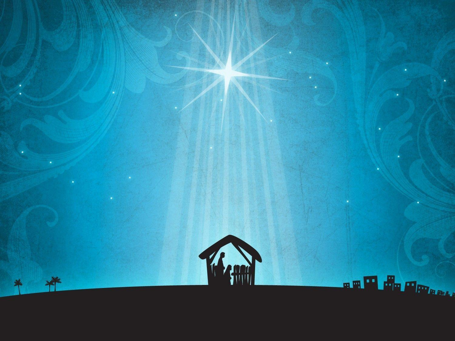 Xmas Stuff For > Christmas Nativity Scene Wallpapers