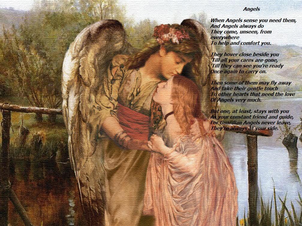 Angels Desktop Wallpapers - Wallpaper Cave