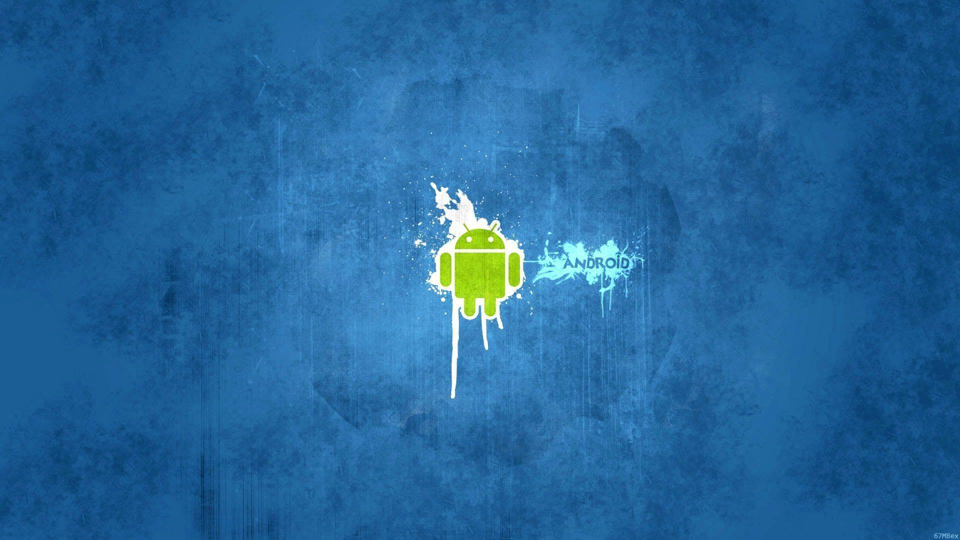 Wallpapers For > Blue Android Wallpapers