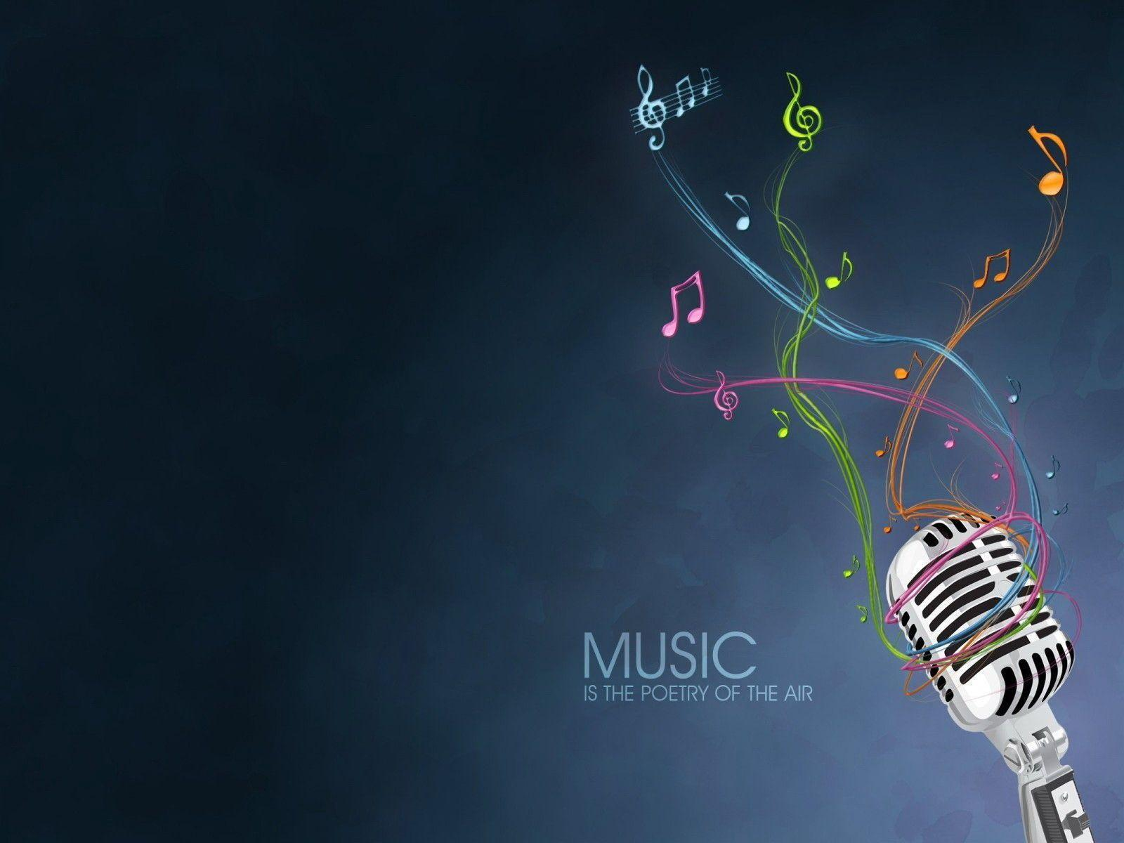 3D Music Abstract Wallpapers And Background