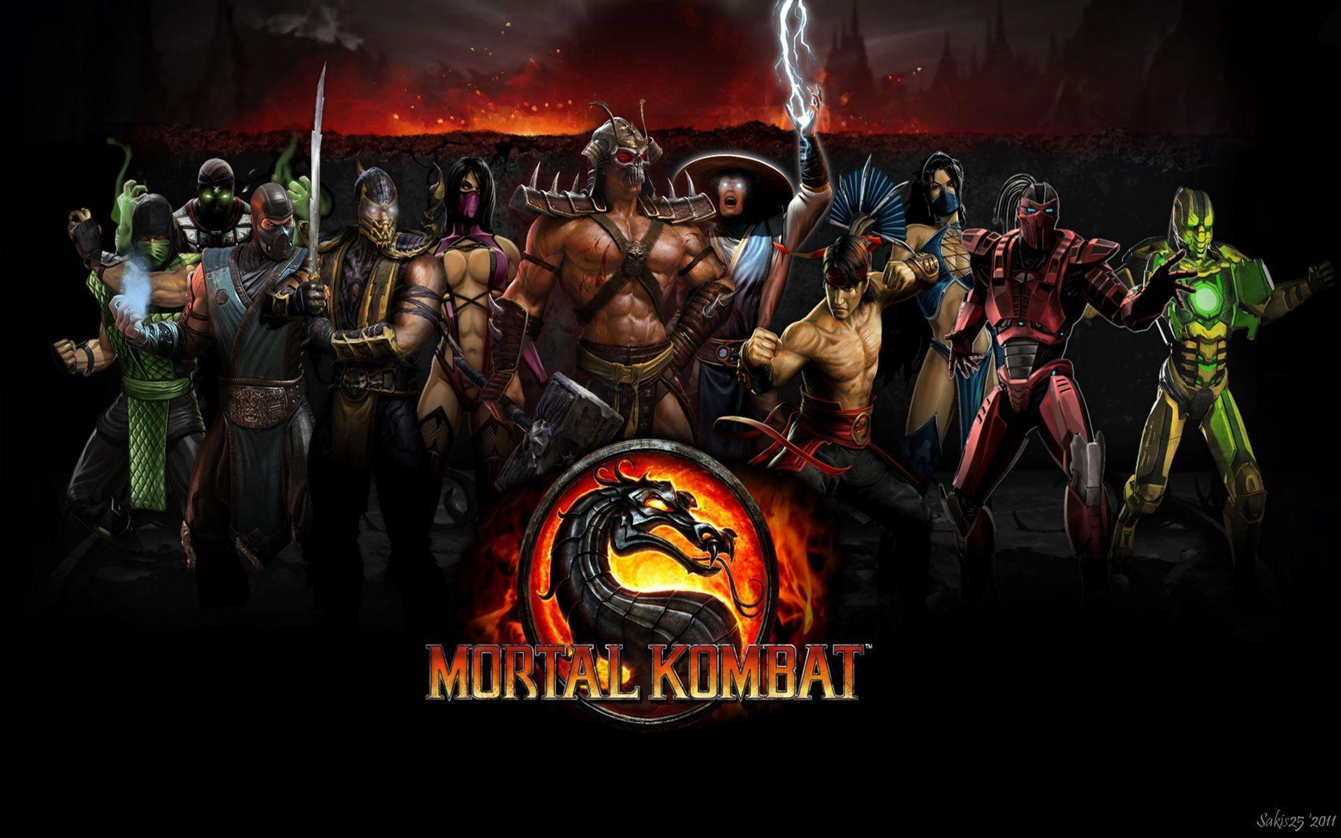 Mortal Kombat Characters Wallpapers - Wallpaper Cave