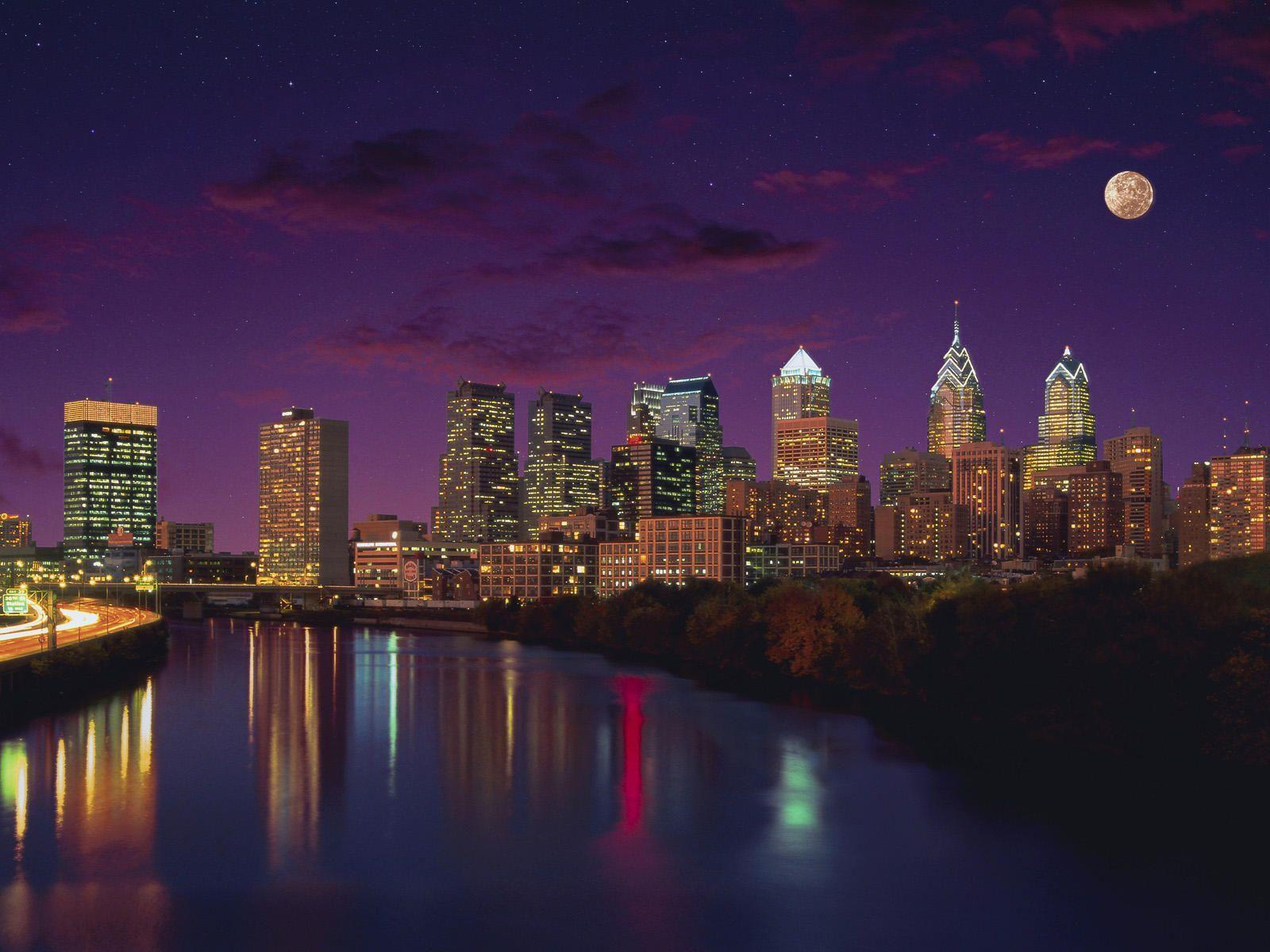 philadelphia skyline wallpaper - photo #14