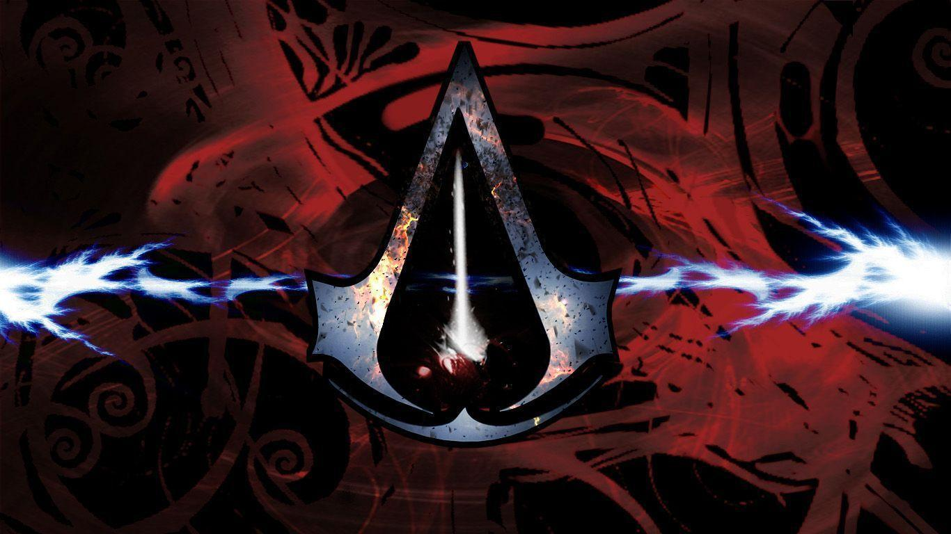 Assassin&Creed Logo 1366x768 wallpapers