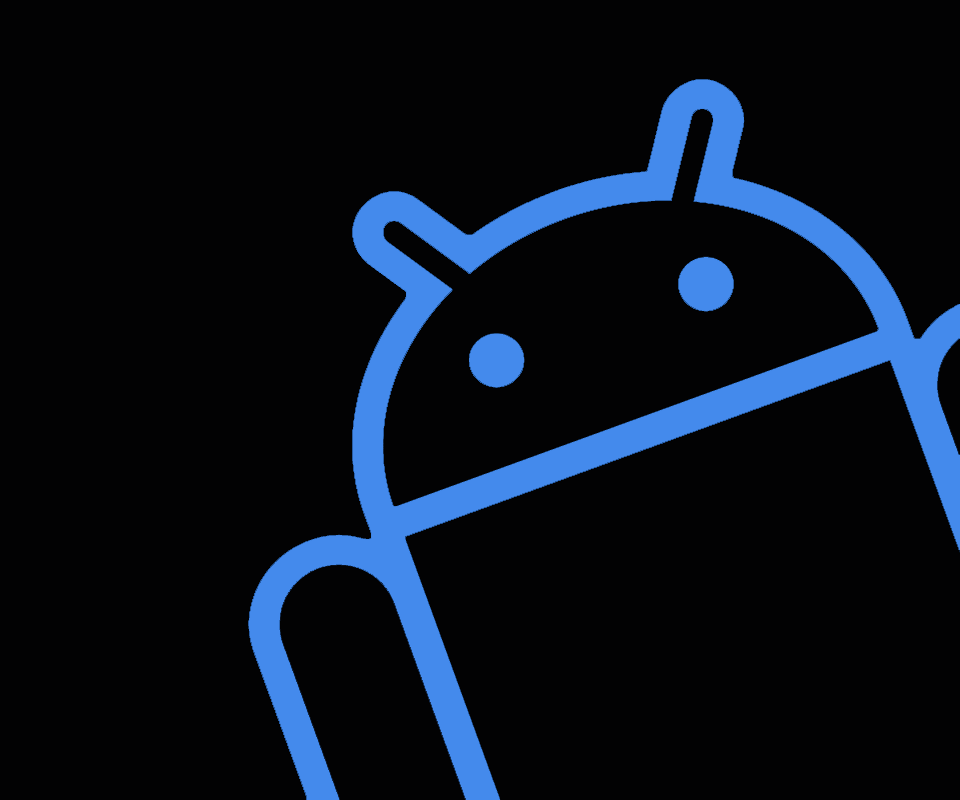 blue android wallpapers wallpaper cave