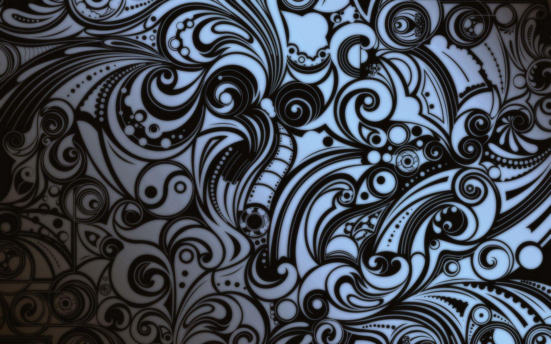 High Resolution 1920x1200 Hd Tattoos Abstract Tribal