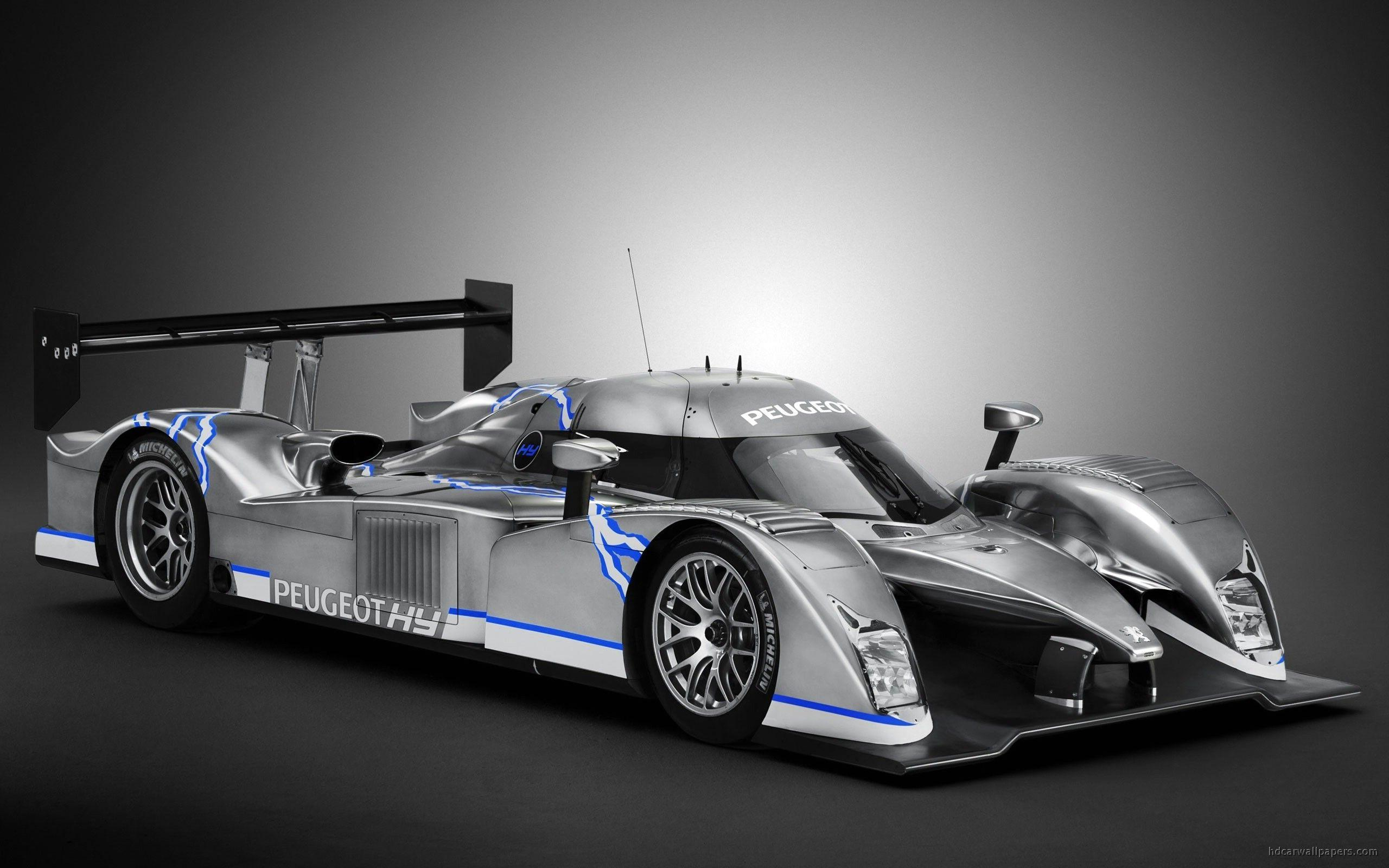 The Peugeot 908 HYbrid Race Wallpaper | HD Car Wallpapers