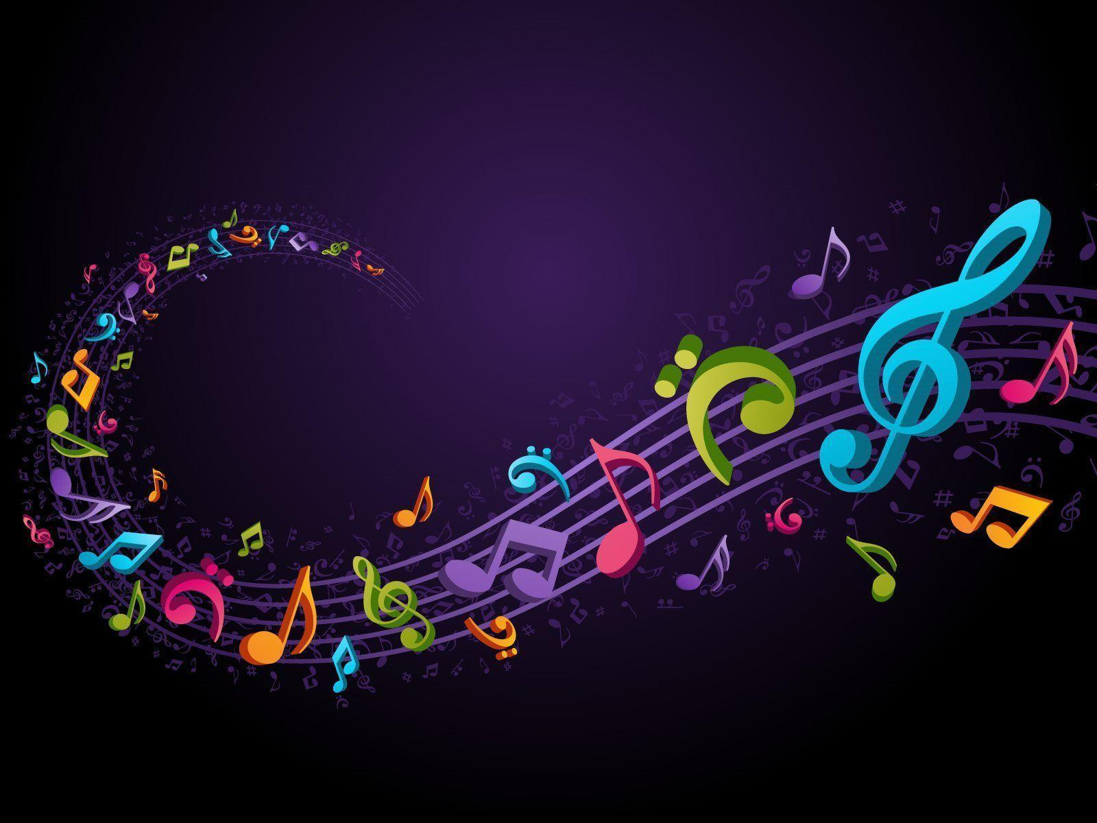 Music Notes Backgrounds - Wallpaper Cave