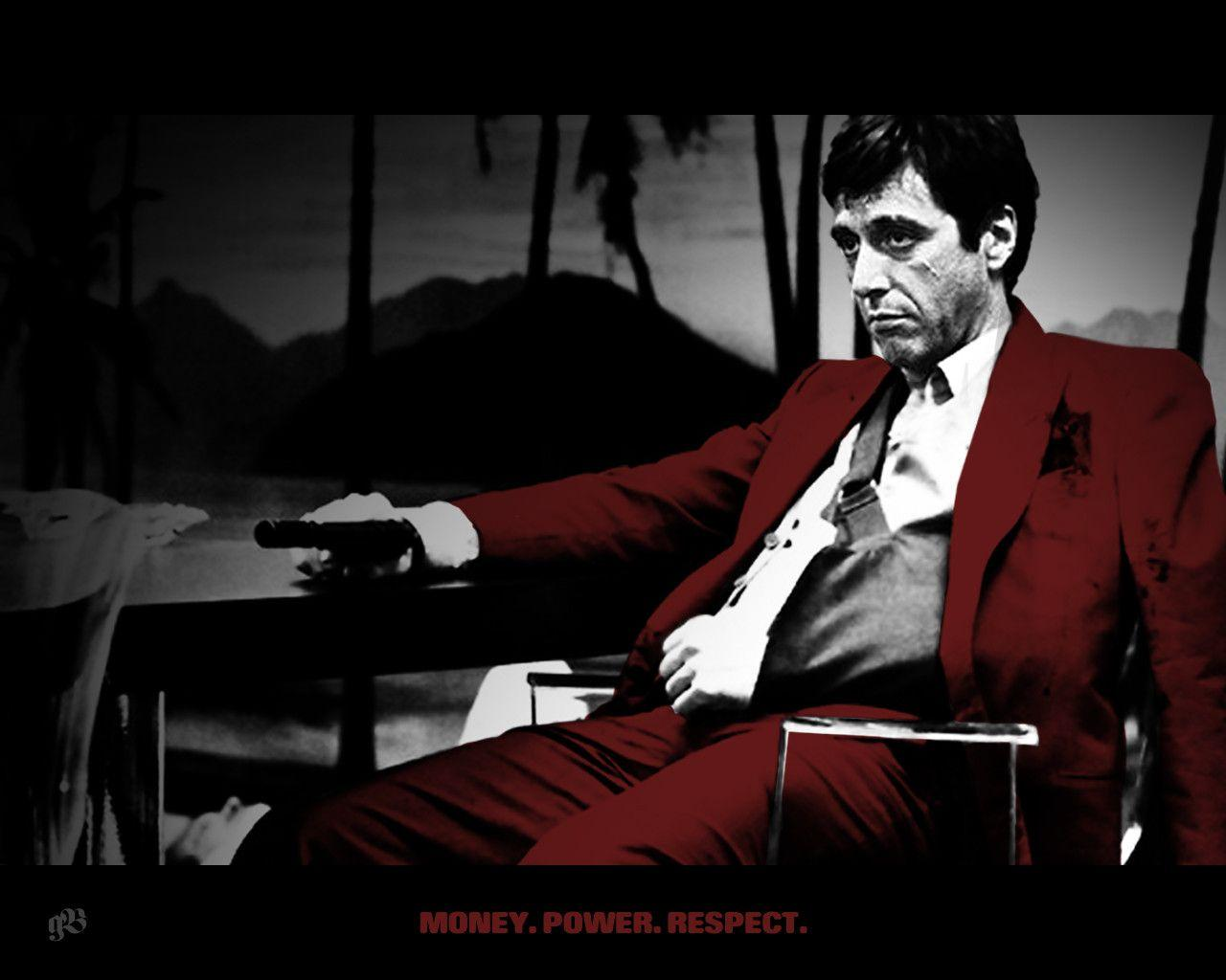 Scarface desktop wallpapers wallpaper cave for Occhiali al pacino scarface
