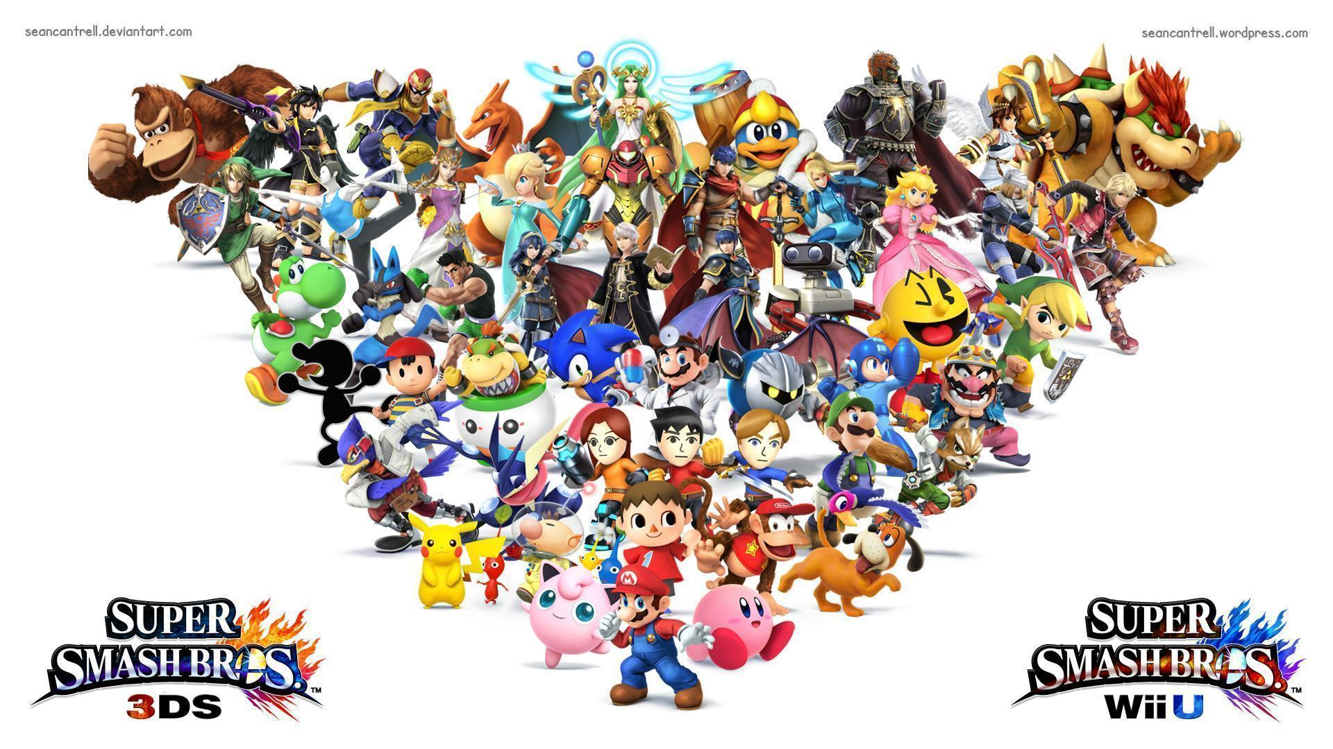 Super Smash Bros Wii U / 3DS Wallpapers by seancantrell