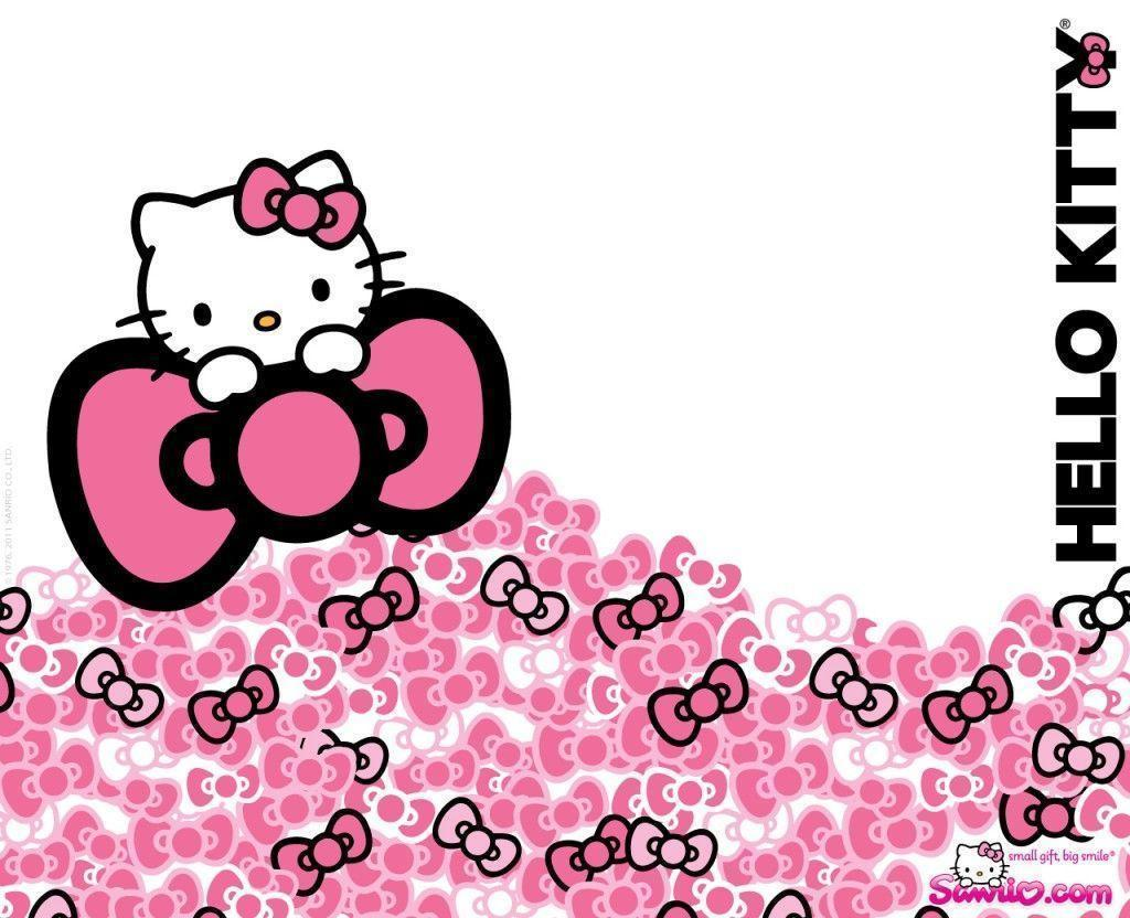 Hello kitty wallpapers for tablet wallpaper cave hello kitty pink bow wallpaper 1024832 best voltagebd Image collections
