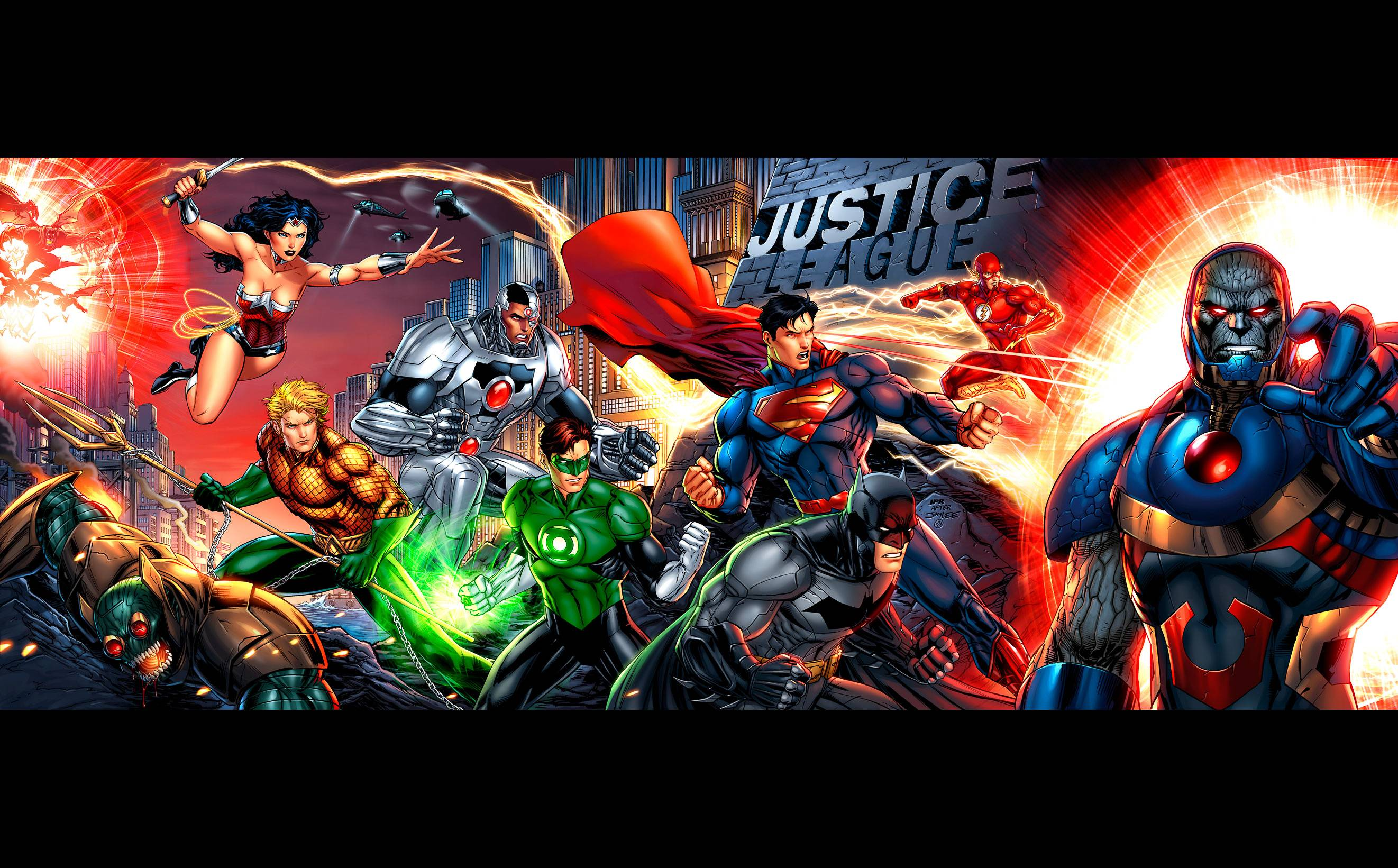 Justice League Comics Wallpapers