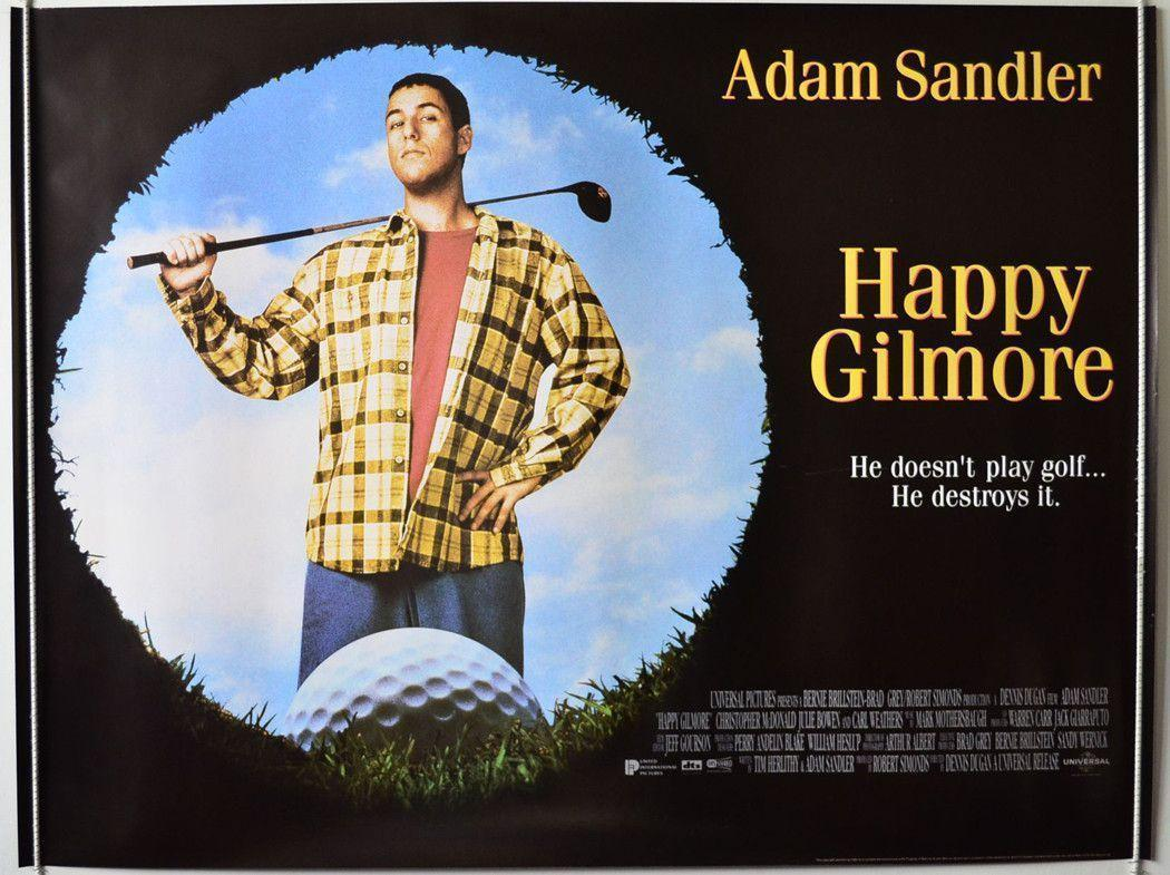 happy gilmore Quotes happy gilmore: my name is happy gilmore ever since i was old enough to skate, i loved hockey i wasn't really the greatest skater though.