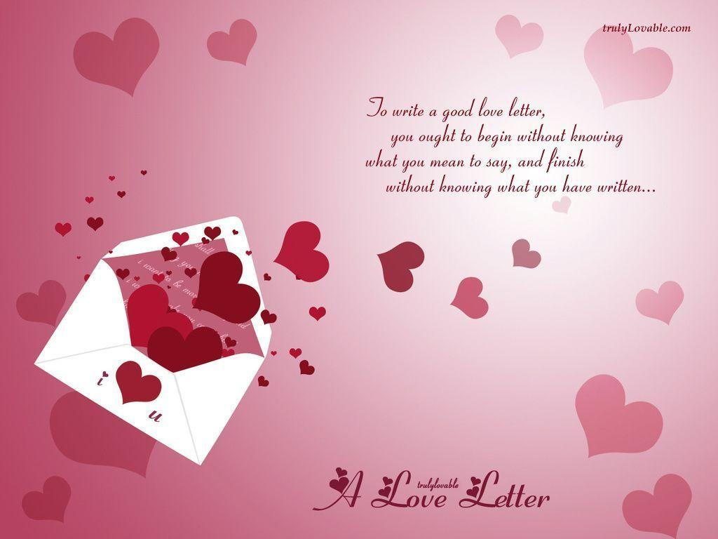 Image For > Love Message Wallpapers