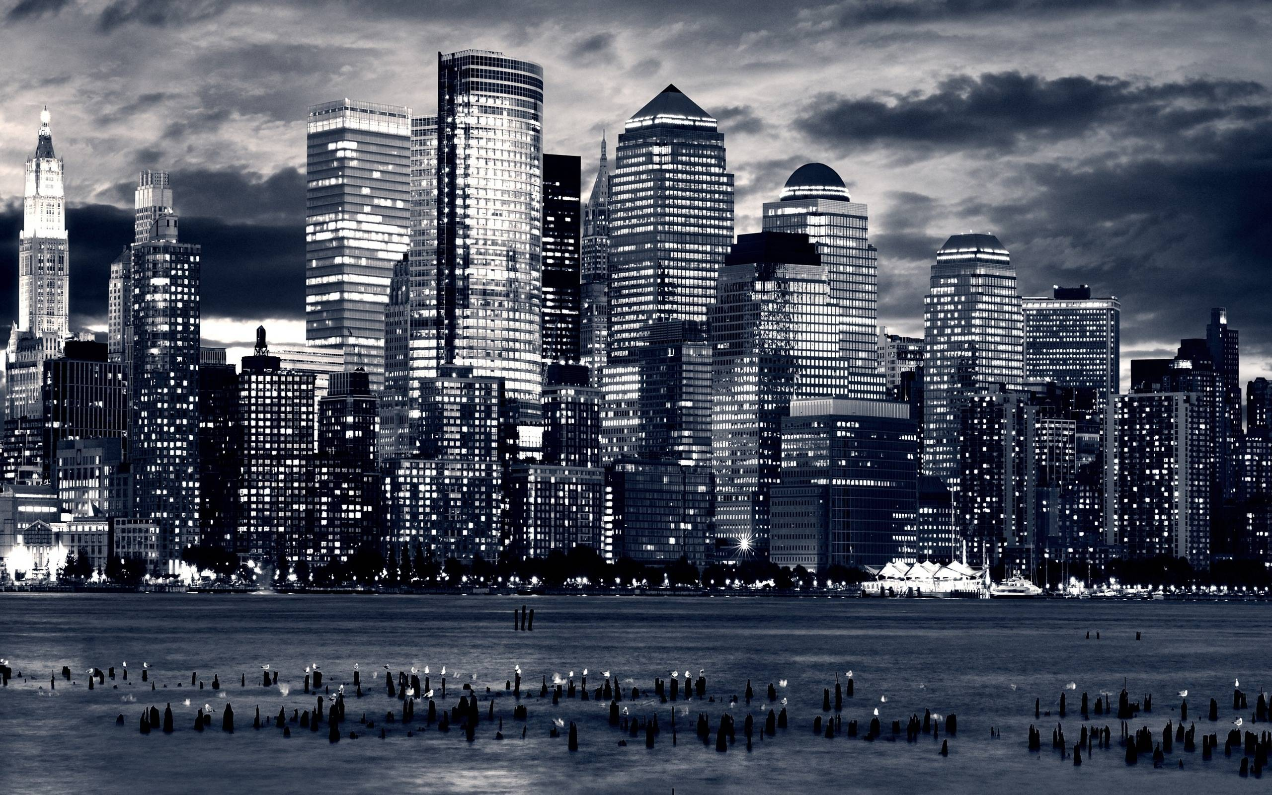 black and white city wallpapers wallpaper cave