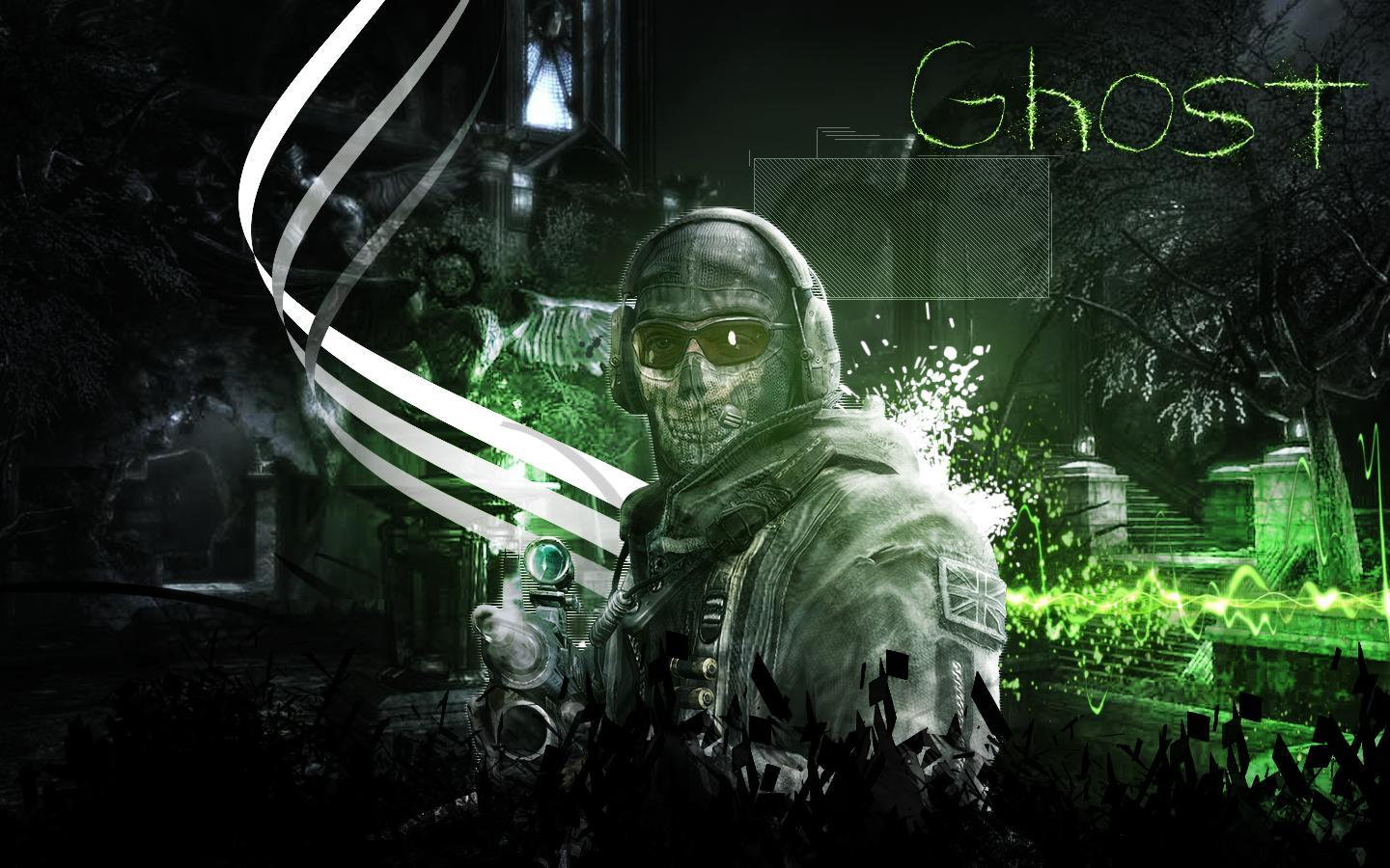 MW2 Ghost Wallpapers -...